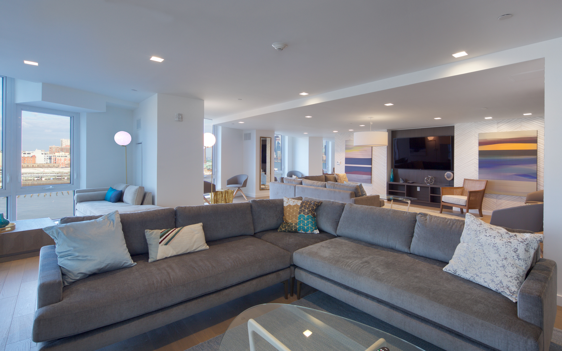 LeFrak Unveils Luxurious Amenities At Ellipse, Jersey City's New Riverfront Rental Tower