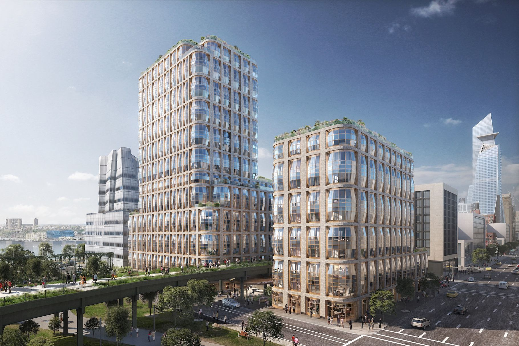 Thomas Heatherwick To Design The Related Companies' High Line-Hugging Hudson Residences
