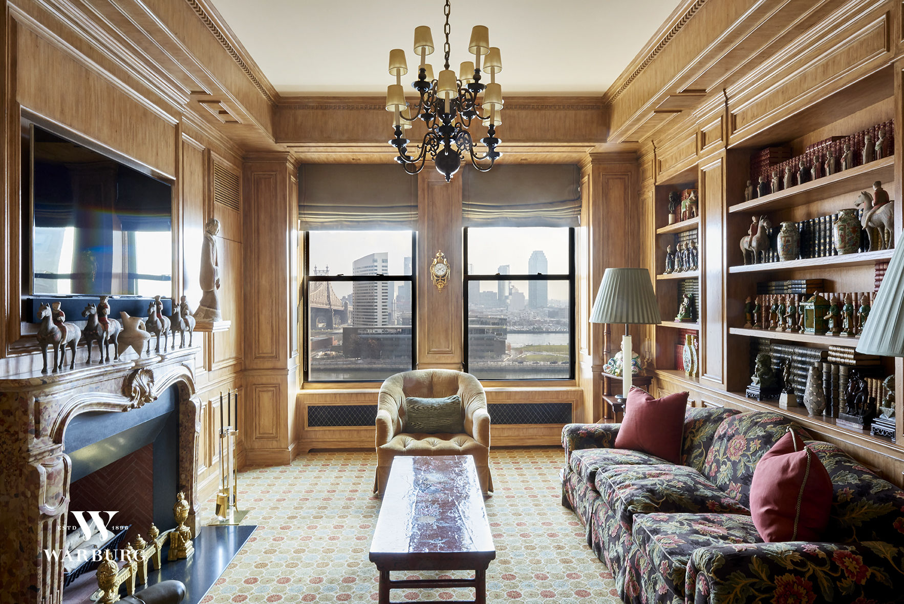 Take A Look At This Timeless Stephen Wang & Charles Krewson-Designed Co-Op In Rosario Candela and Cross & Cross' 4 Sutton Place