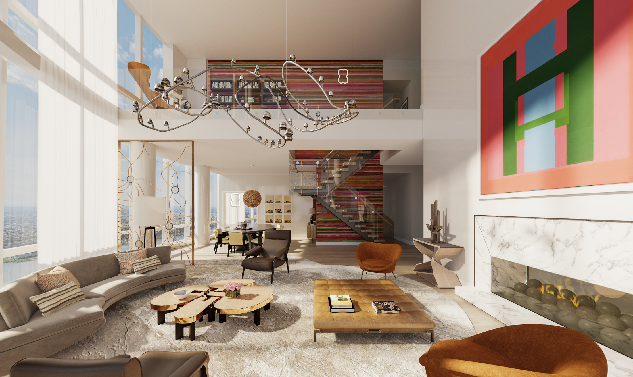 Take A VR Tour Of Penthouse 88B At The Diller Scofidio + Renfro & Rockwell Group Designed Fifteen Hudson Yards Penthouse