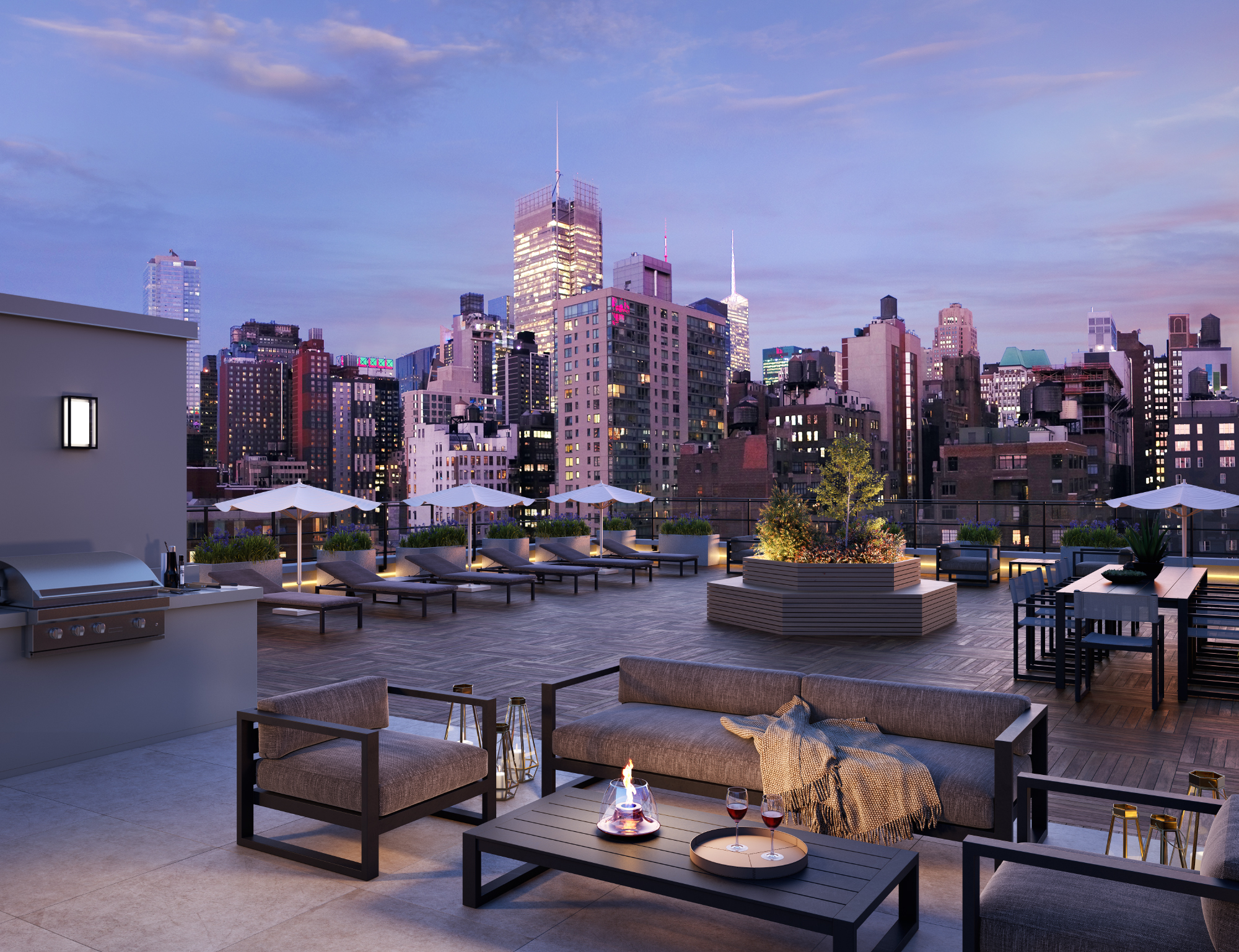 The Green Property Certified The Lewis Launches Leasing in Hudson Yards
