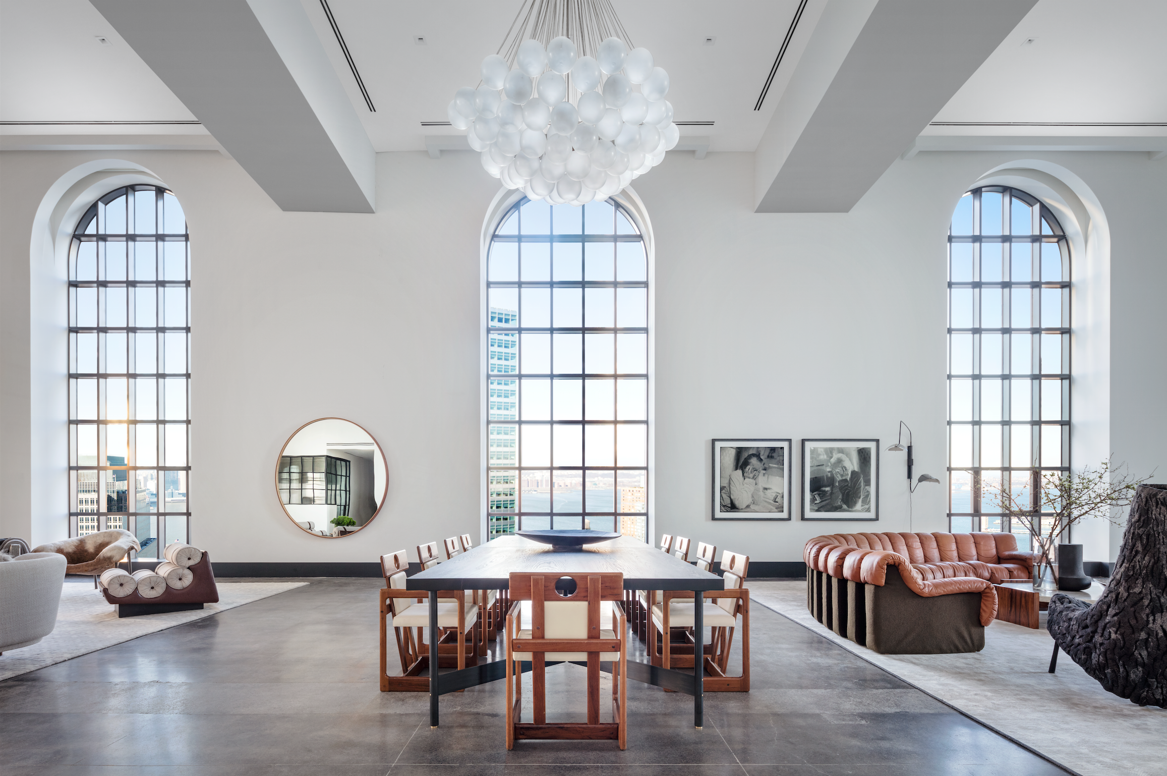 The Penthouse at One Hundred Barclay Hits The Market For $59 Million in TriBeCa