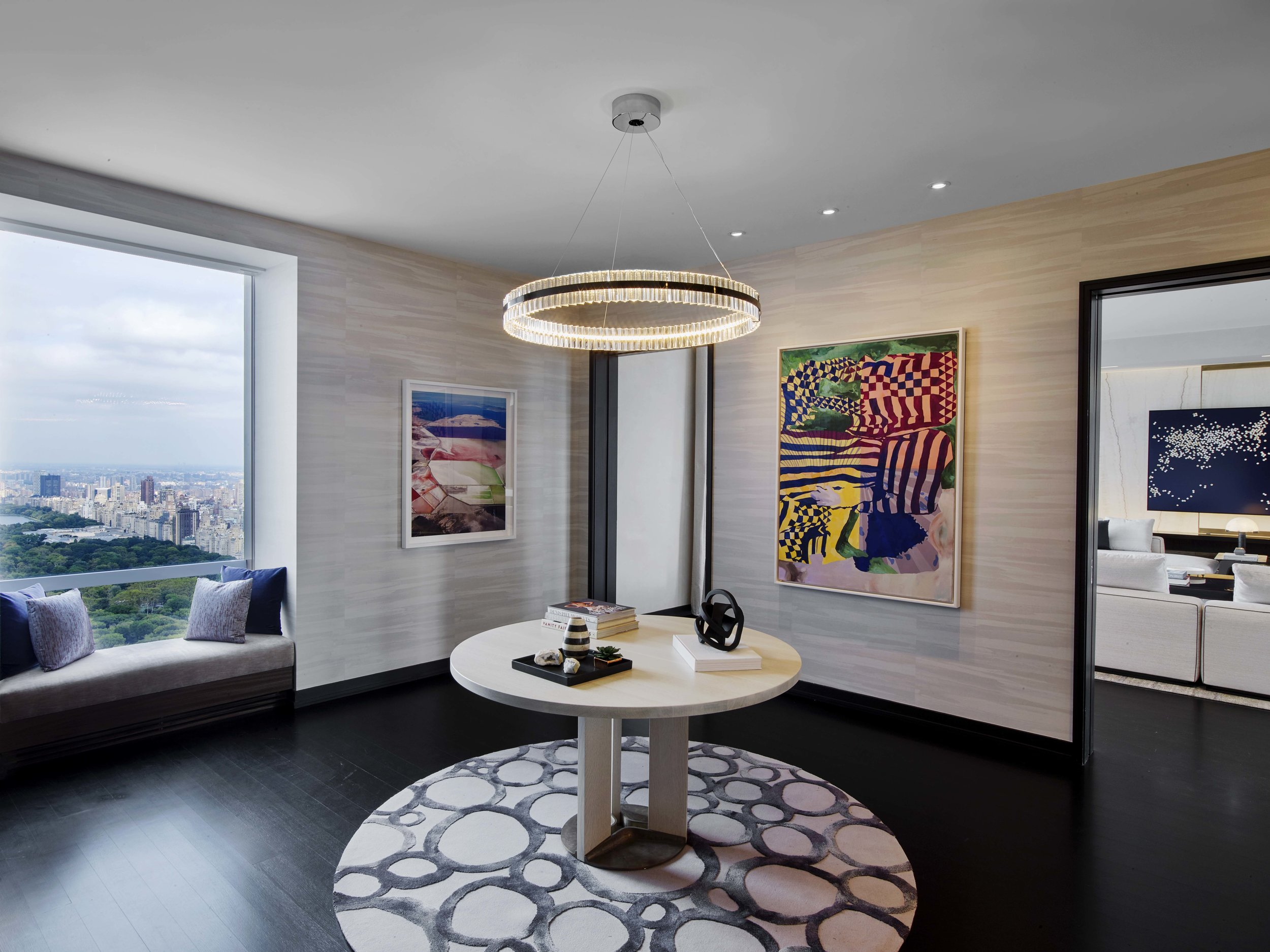 Check Out This Sky-High, Billionaire's Row Pad Designed By Jeffrey Beers In The Uber-Luxe One57 Asking $29 Million