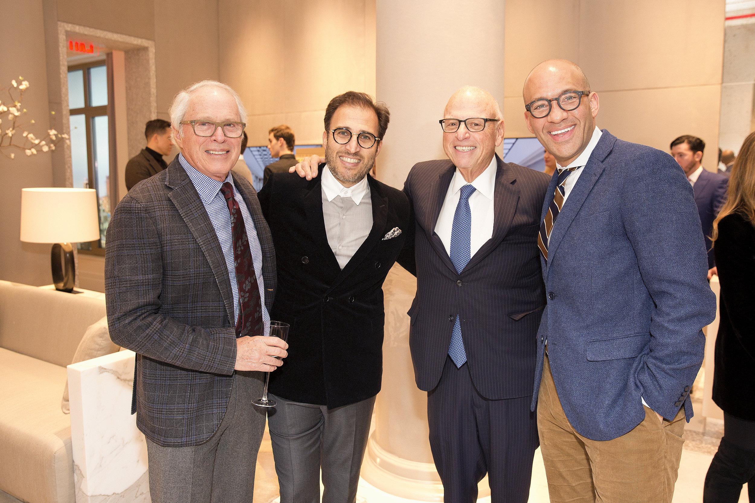 Raymond Chalmé (left center), Howard Lorber (right center), John Gomes (right)