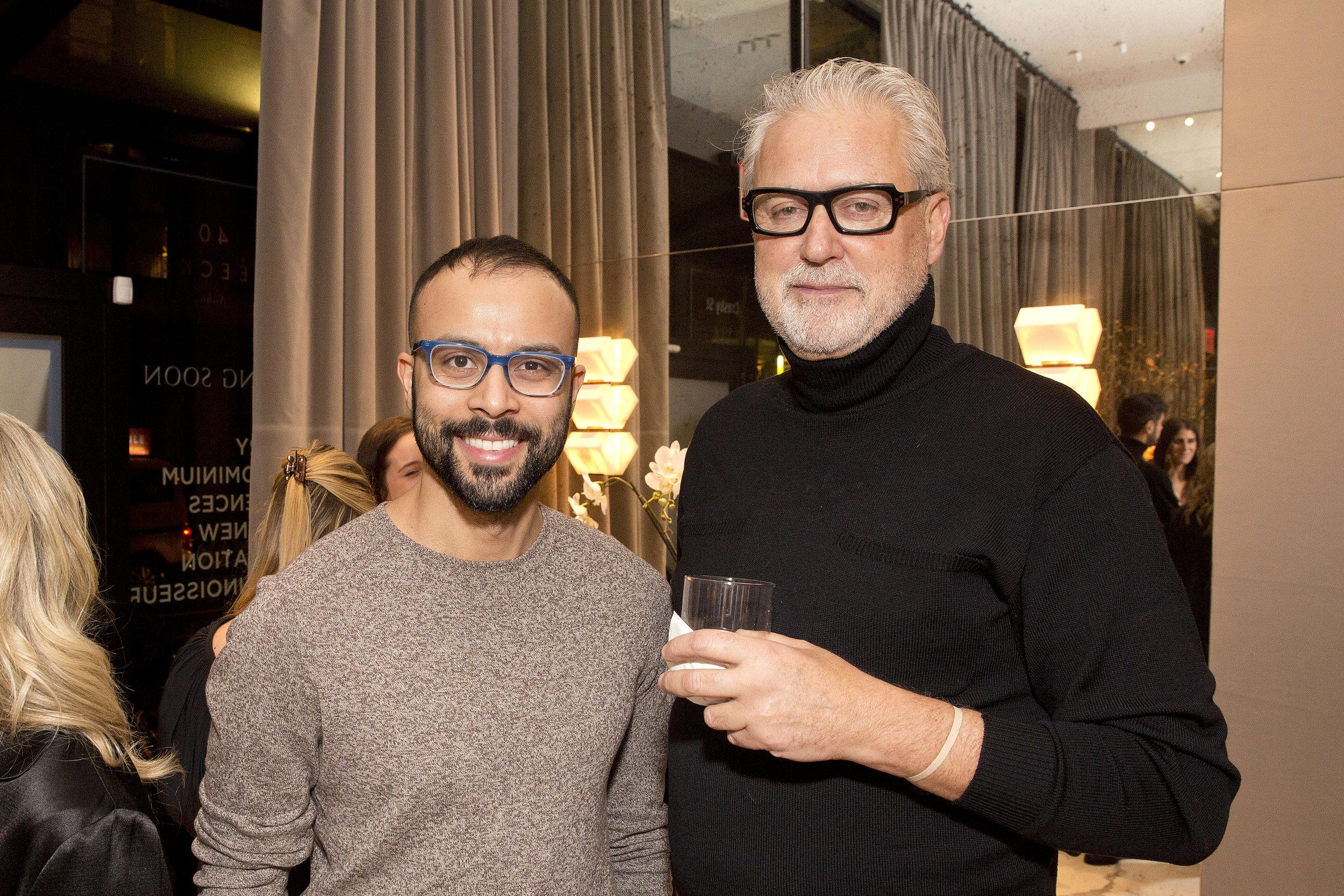 Million Dollar Listing's Fredrik Eklund and AD100's Ryan Korban Celebrate The Launch of Sales at 40 Bleecker