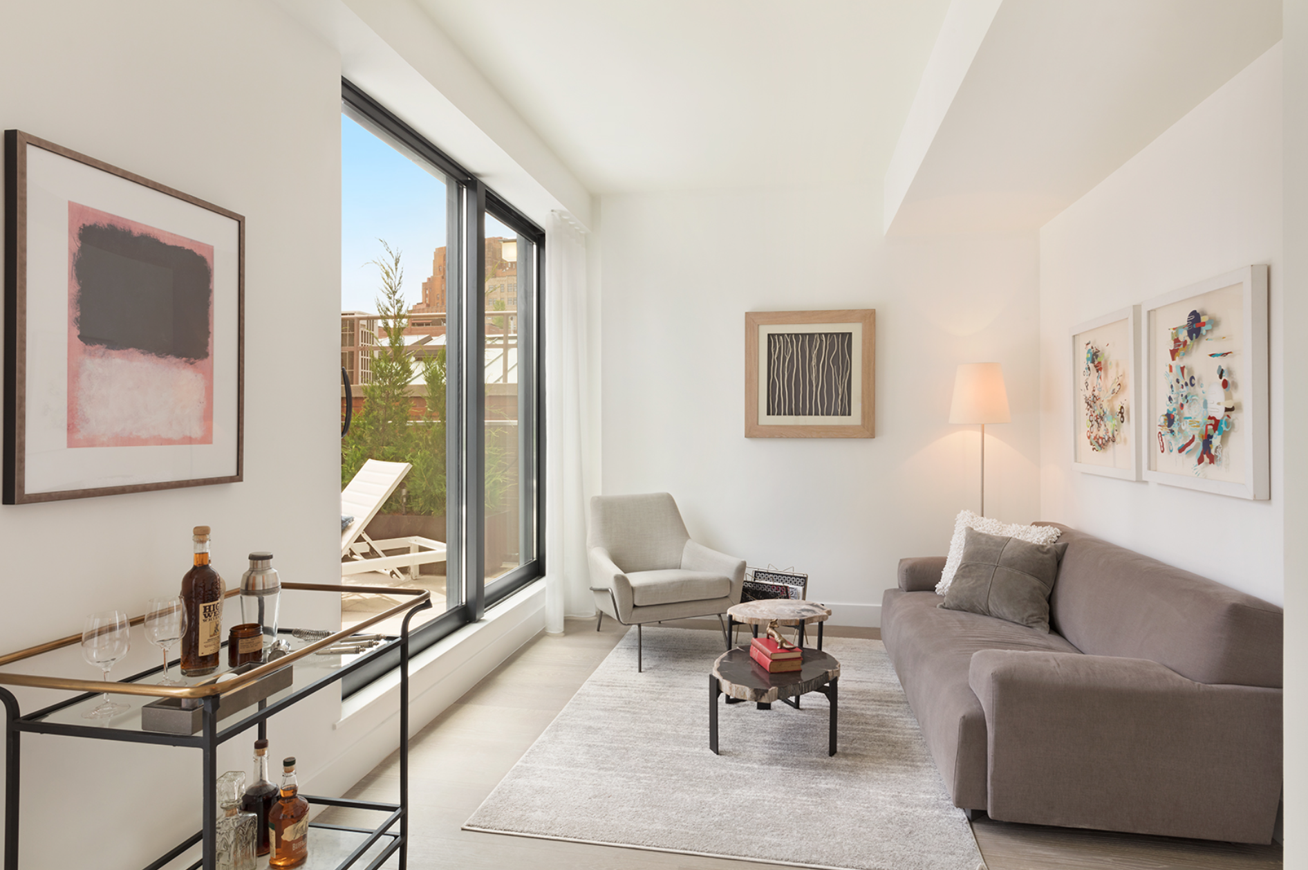 Tour The Rare, Luxe Tribeca Penthouse Atop The Morris Adjmi-Designed 403 Greenwich Street