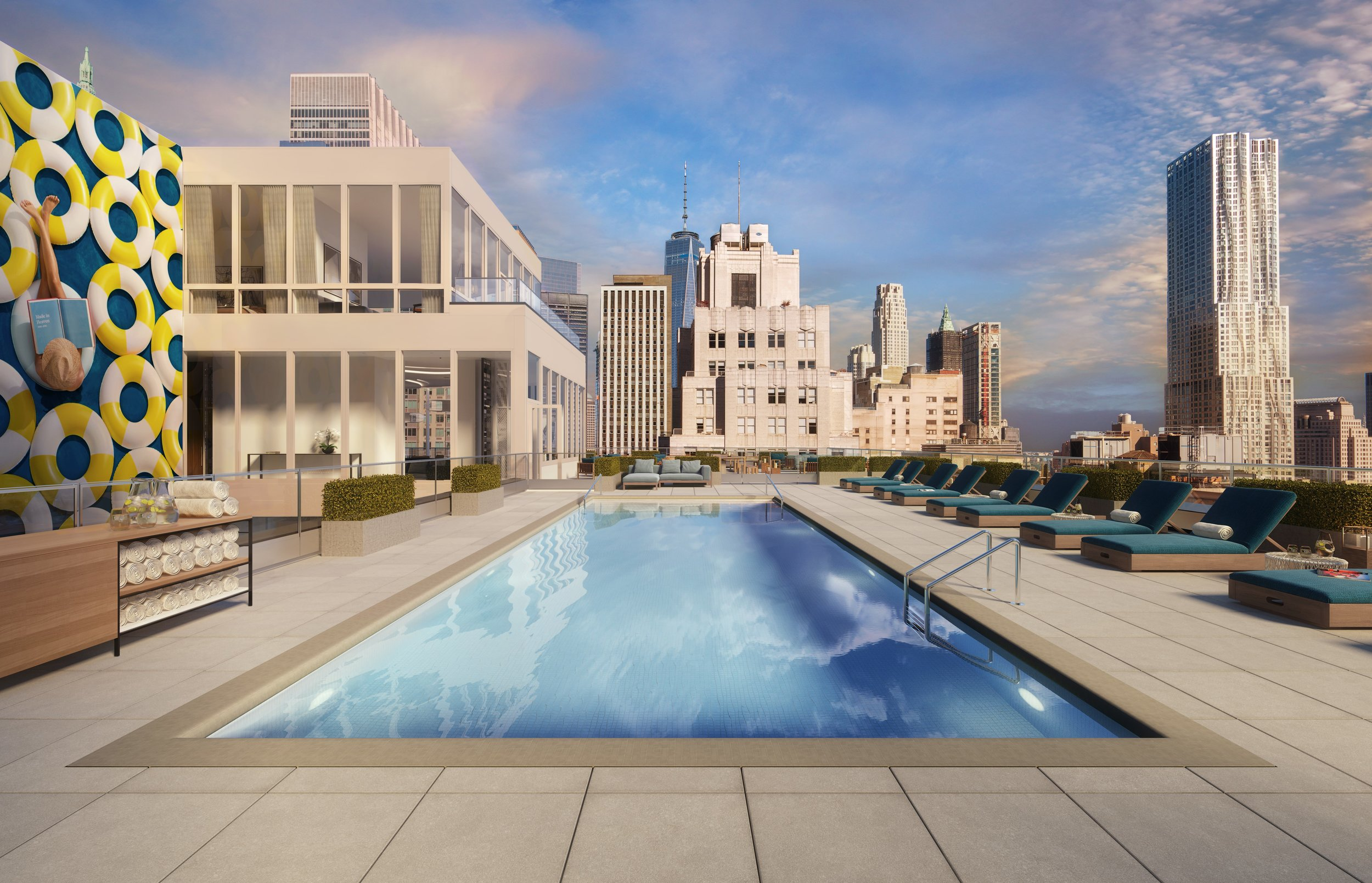 Douglas Elliman Development Marketing Announces 180 Water In NYC's Financial District Is 95% Leased
