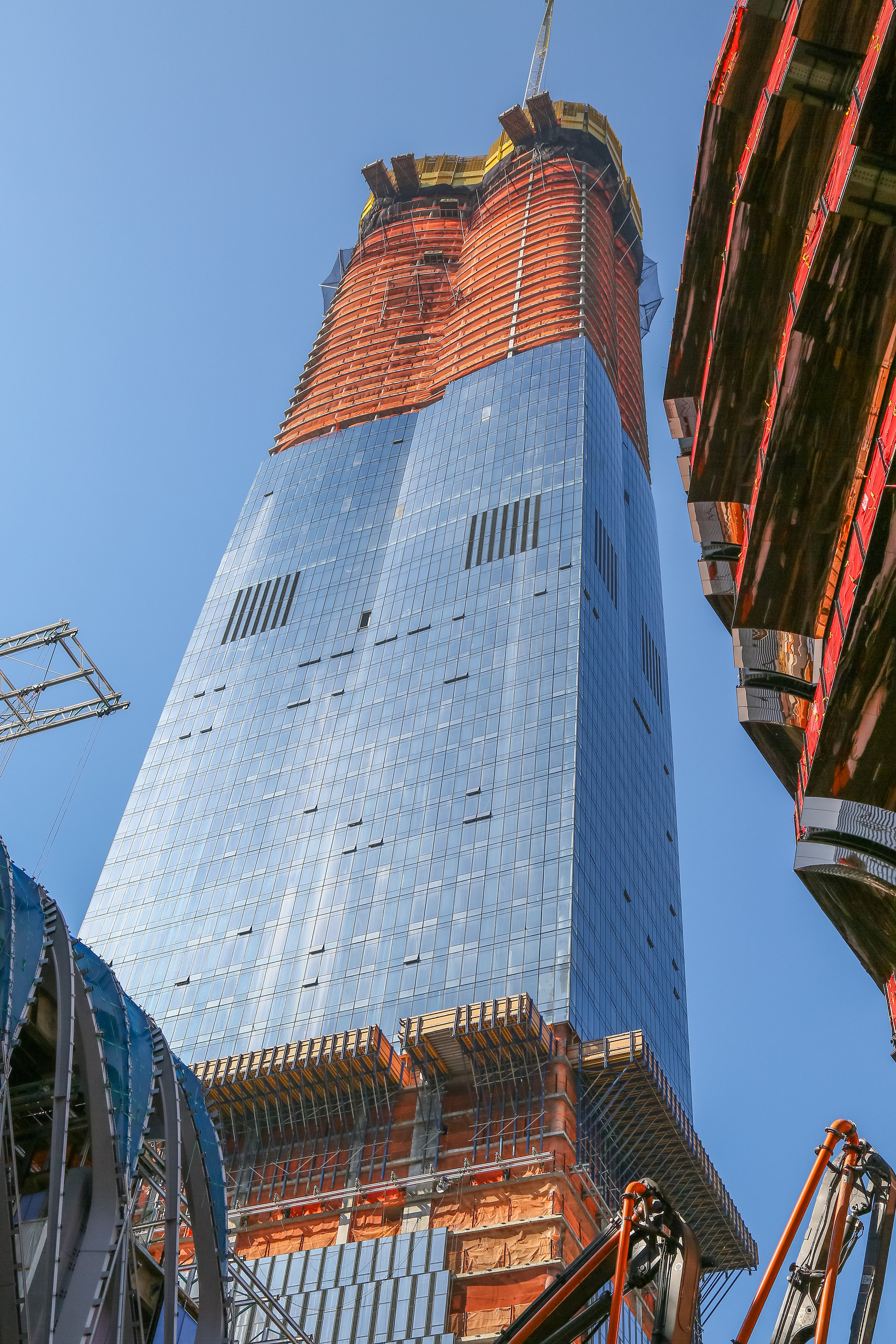 15 Hudson Yards Tops Out, Designed By Diller Scofidio + Renfro in Collaboration With Rockwell Group