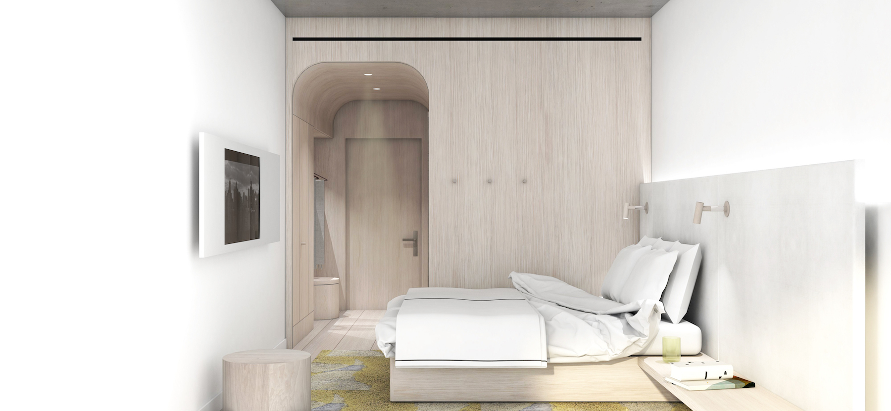 ODA New York Has Revealed New Renderings of Brutalist Crown Heights Hotel