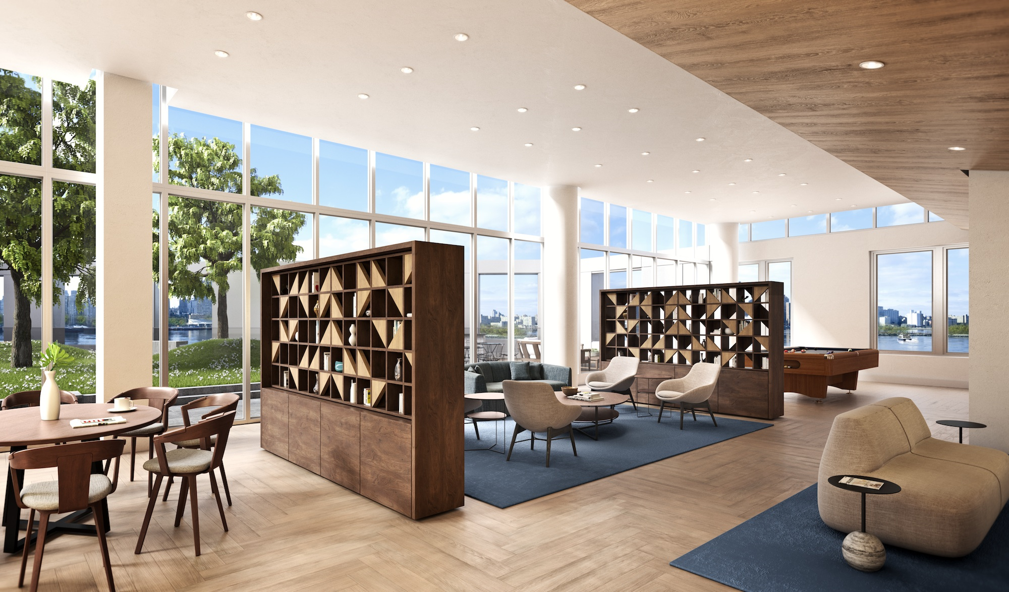 The Durst Organization Releases New Renderings Of 10 Halletts Point At Halletts Point Megaproject in Astoria