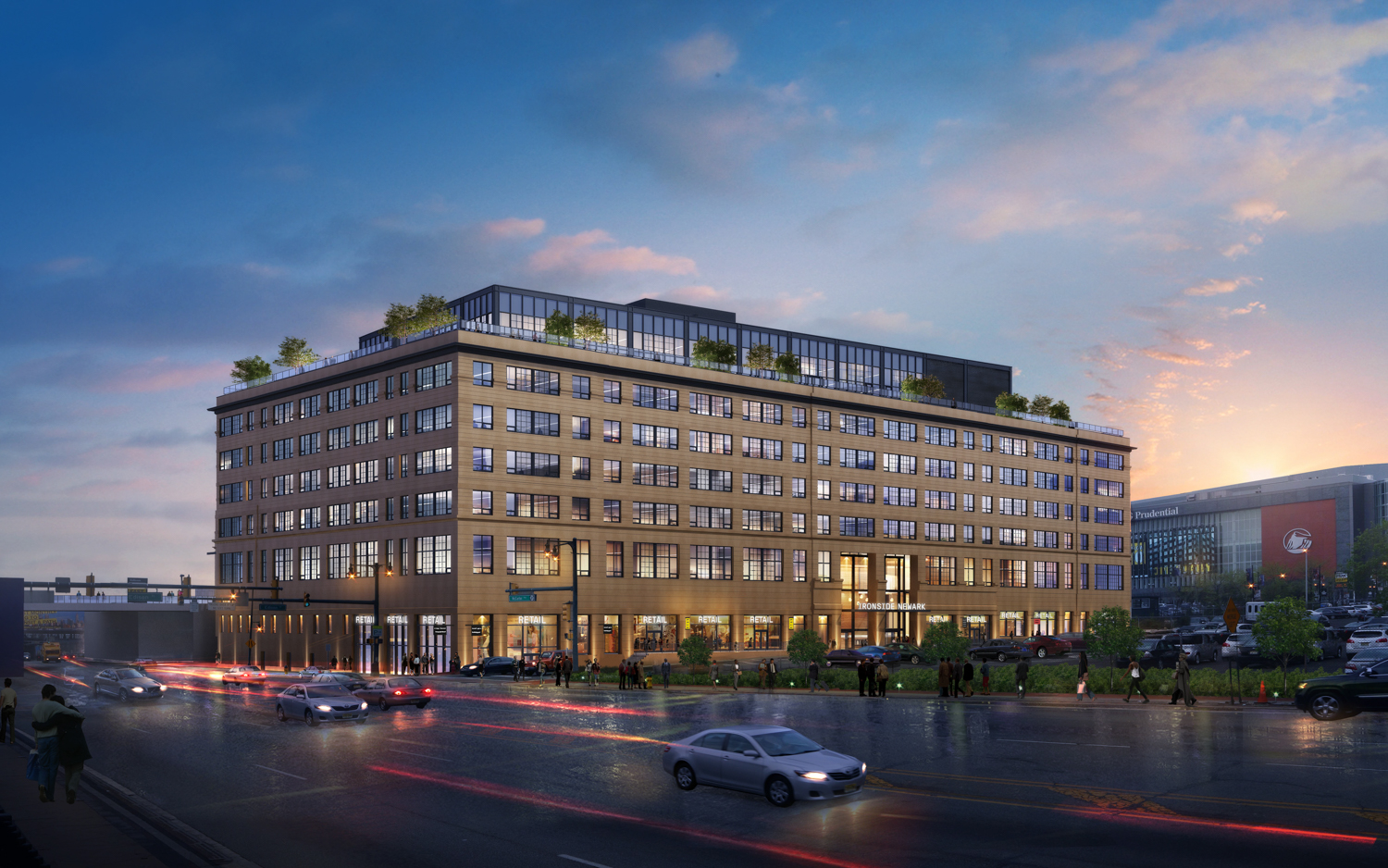 The Mars Company Releases New Renderings of Ironside Newark, Their Perkins Eastman-Designed Office Project