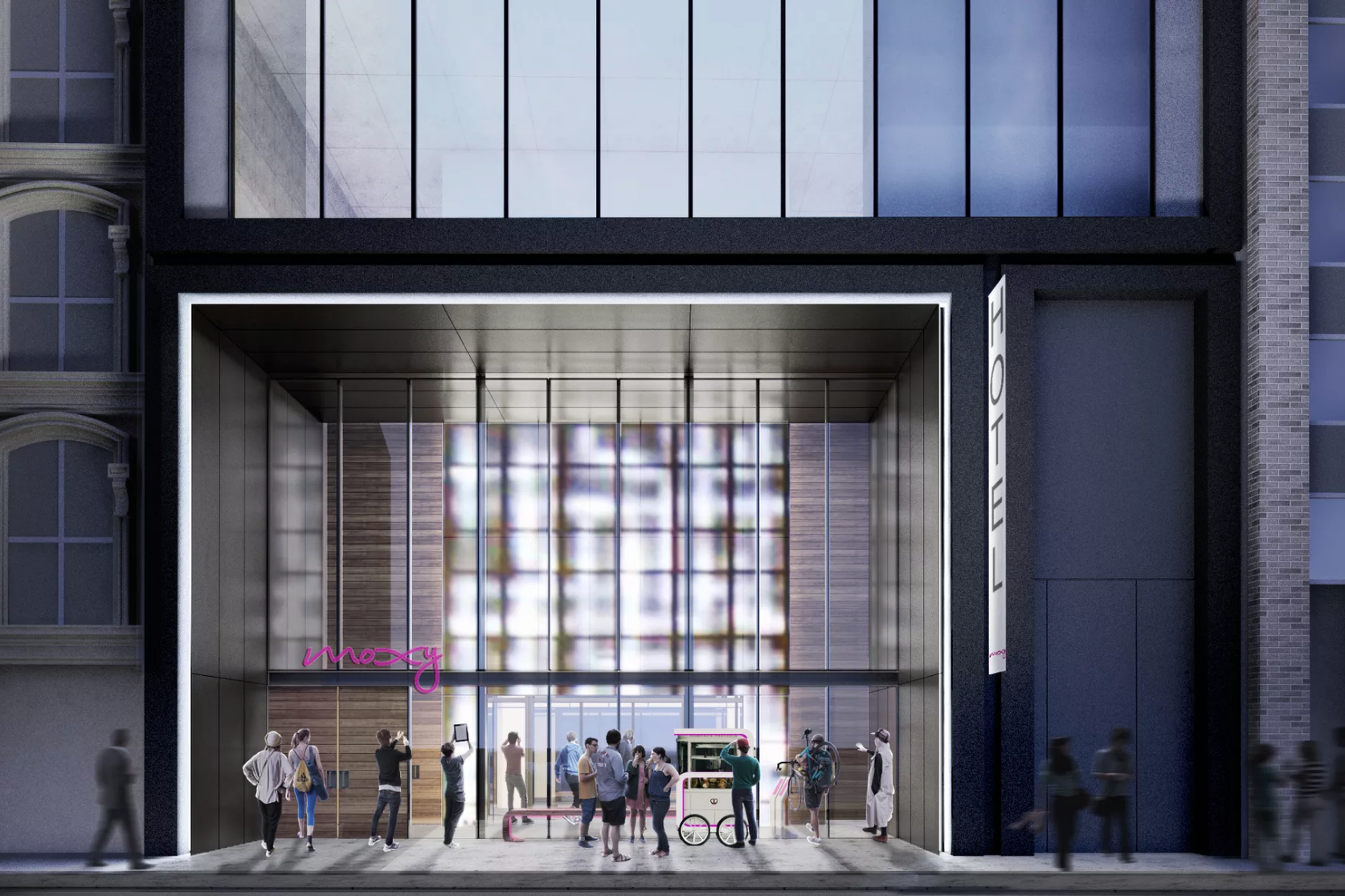 Moxy Hotels To Open Second NYC Location In Financial District For Summer