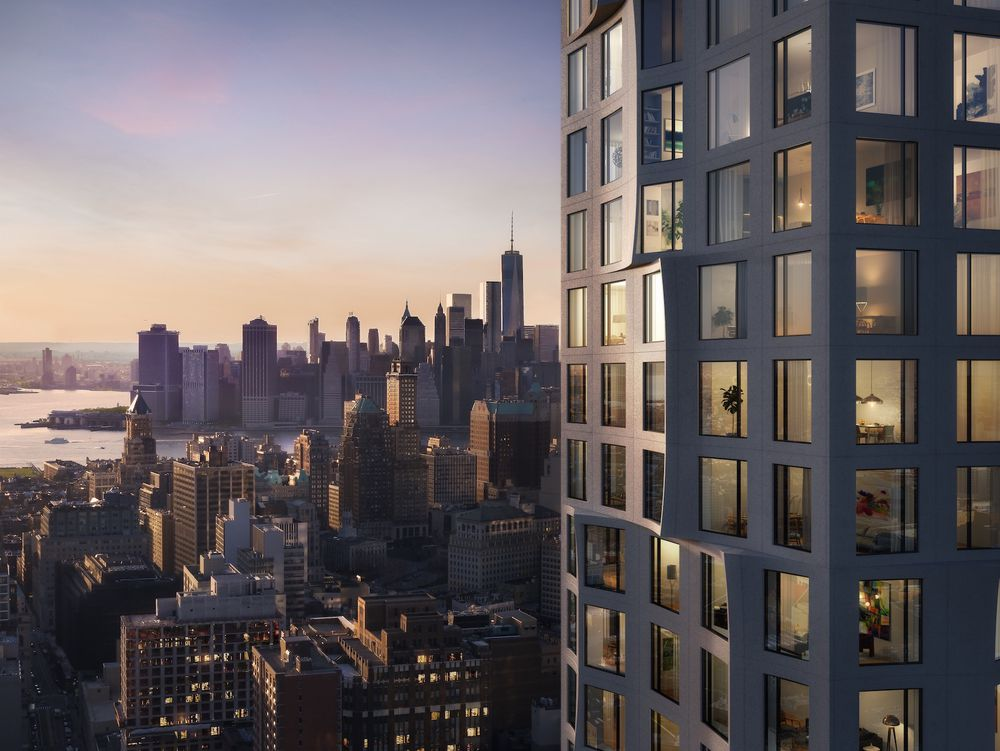 Tishman Speyer Reveals New Renderings Of 11 Hoyt, Their Studio Gang-Designed Condo Tower in Downtown Brooklyn