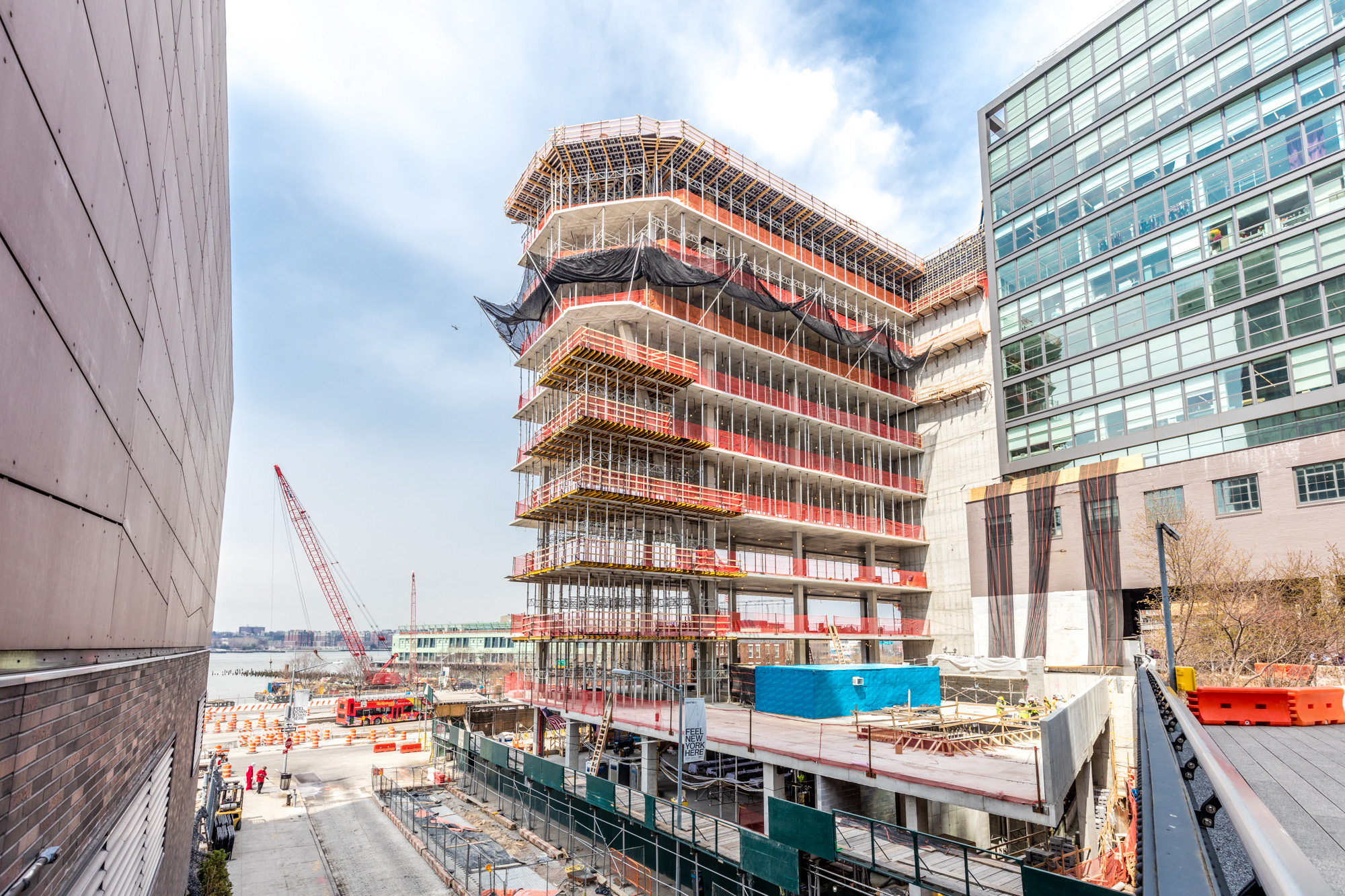 The Studio Gang-Designed, High Line Hugging 40 Tenth Avenue Tops Out
