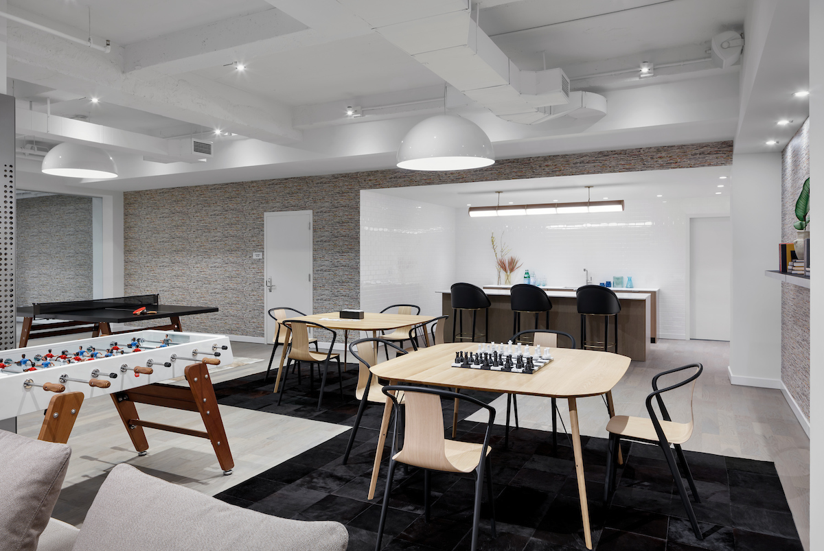 Get A First Look At The Amenities at HFZ's Workshop/ APD-Designed 88 & 90 Lexington