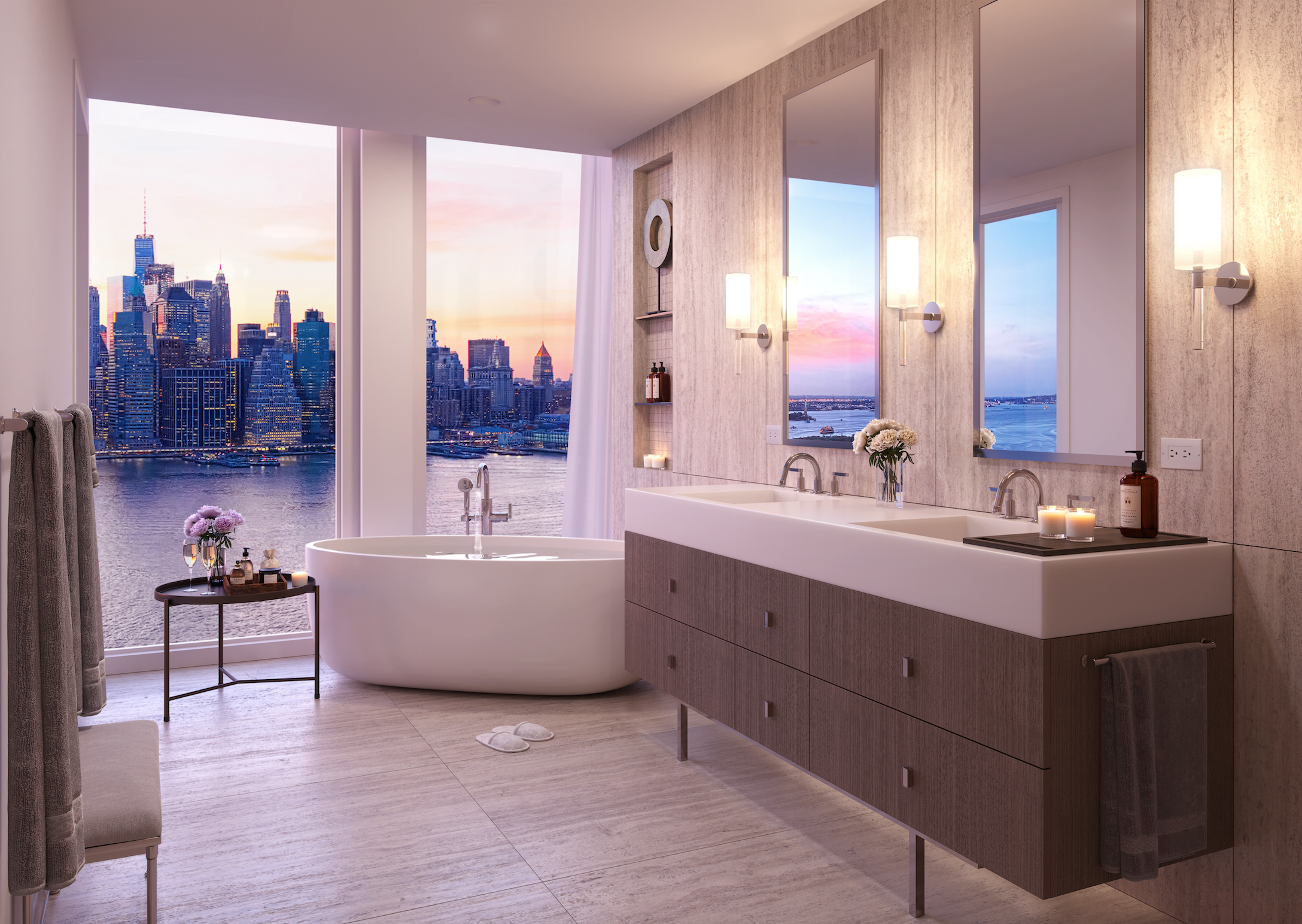 Marmol Radziner Tabbed As Interior Designer For Brooklyn Height's New Pier 6 Condo, Quay Tower