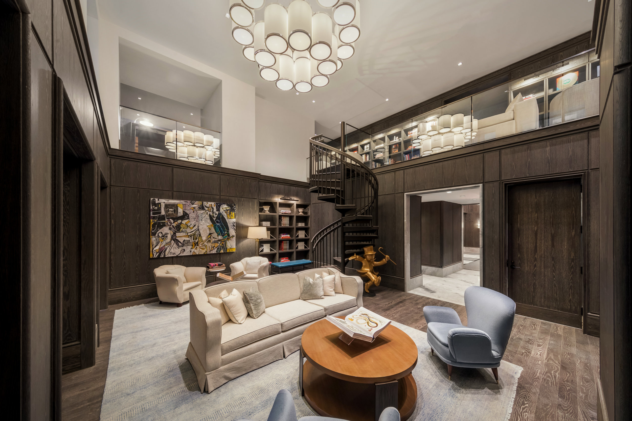 Continuum Company Reveals Martin Brudnizki-Designed Library At Madison Square Park Tower