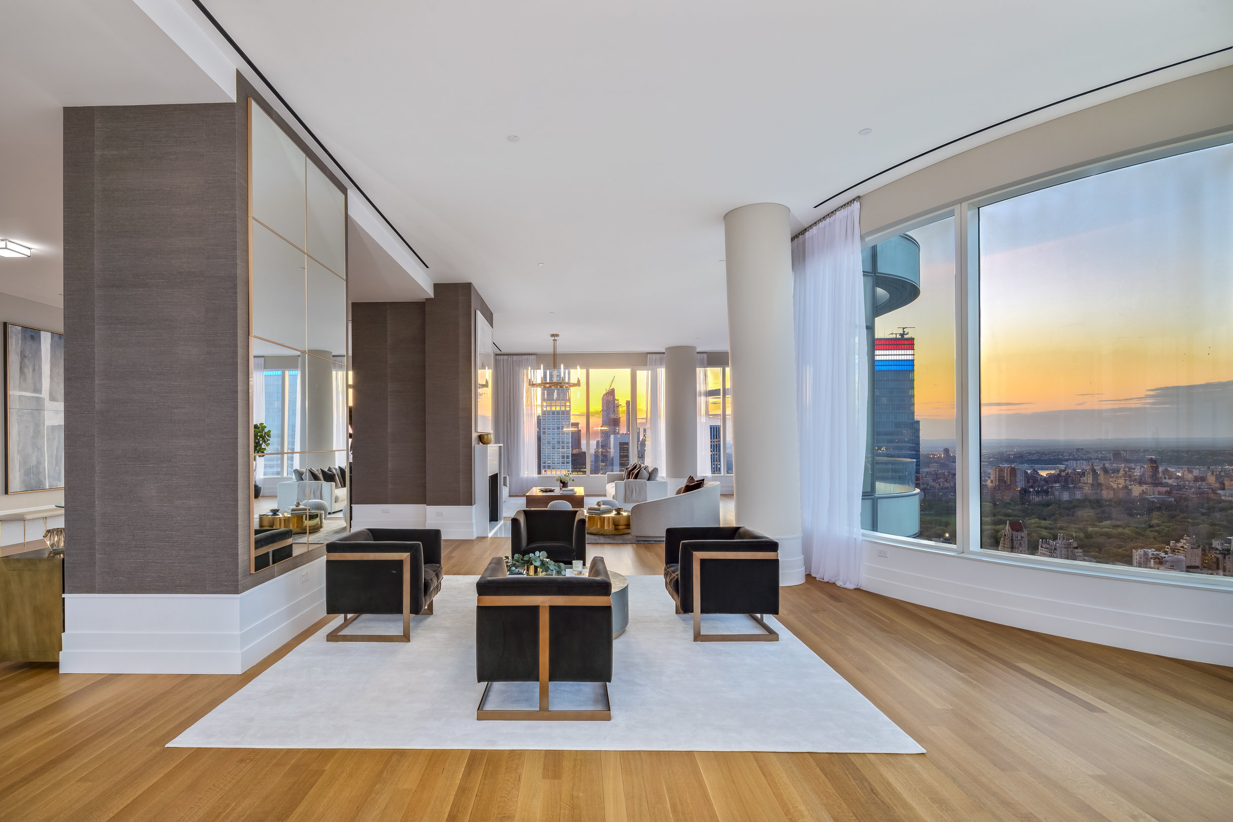 Peek Inside the Penthouse At Billionaire Row's 252 East 57th Street Asking $29.75 Million