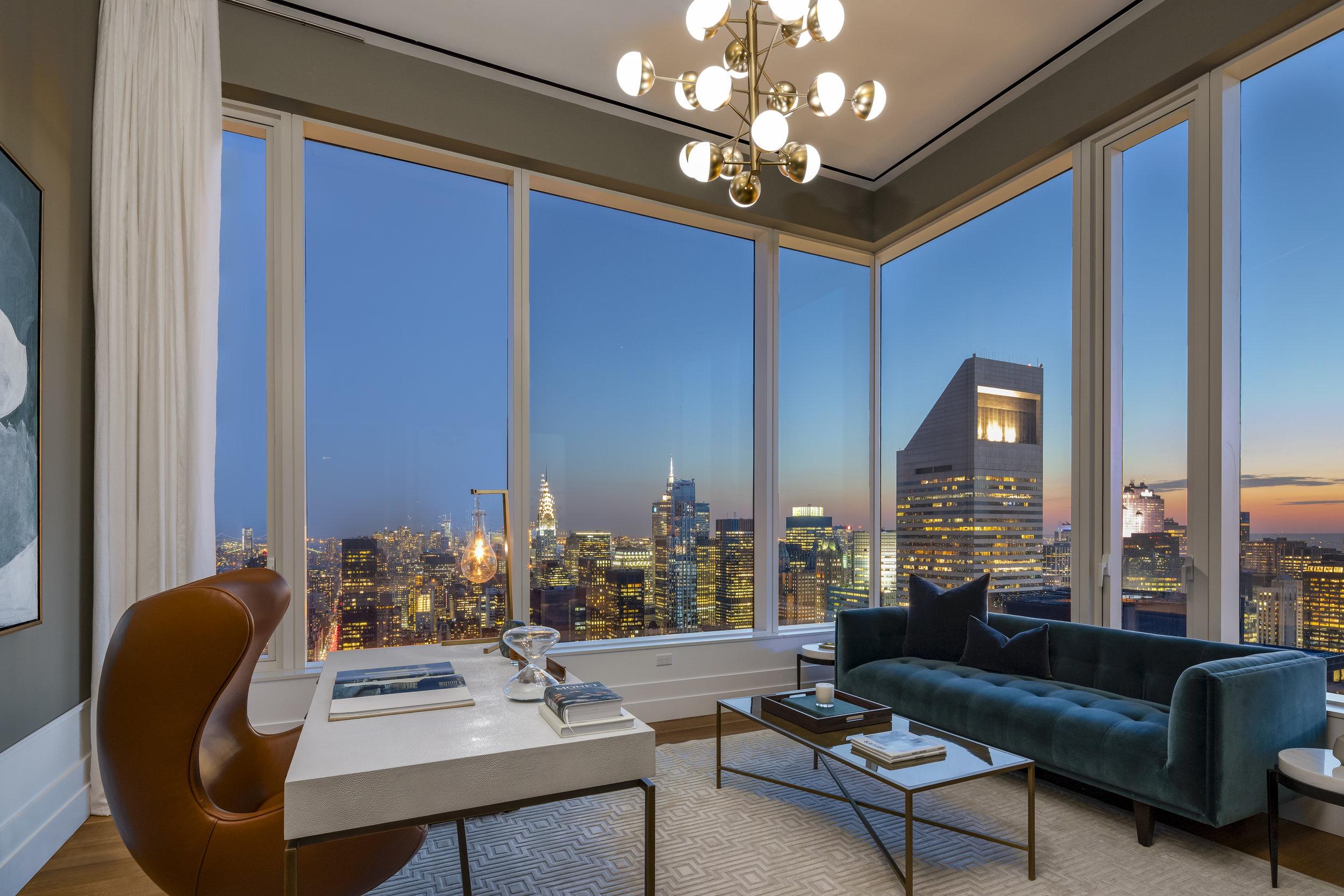 Peek Inside the Penthouse At Billionaire Row's 252 East 57th Street Asking $29.75 Million