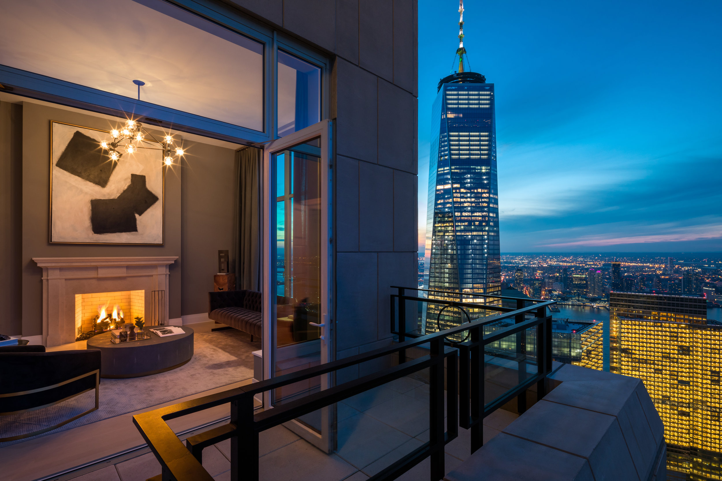 First Look Inside The Highest Terraced Penthouse In NYC At The Robert A.M. Stern-Designed 30 Park Place