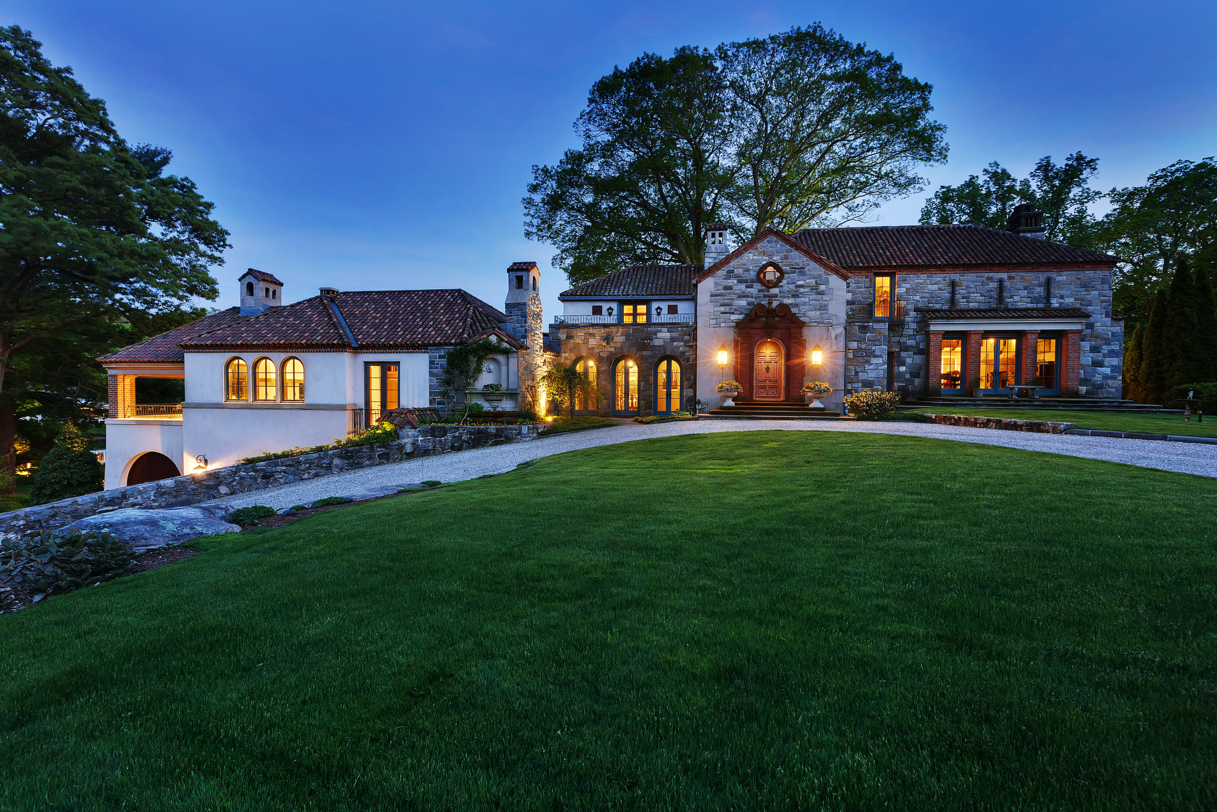 Check Out This Historic 1936 Waterfront In Beautiful Darien, CT Built For Composer Frank LaForge