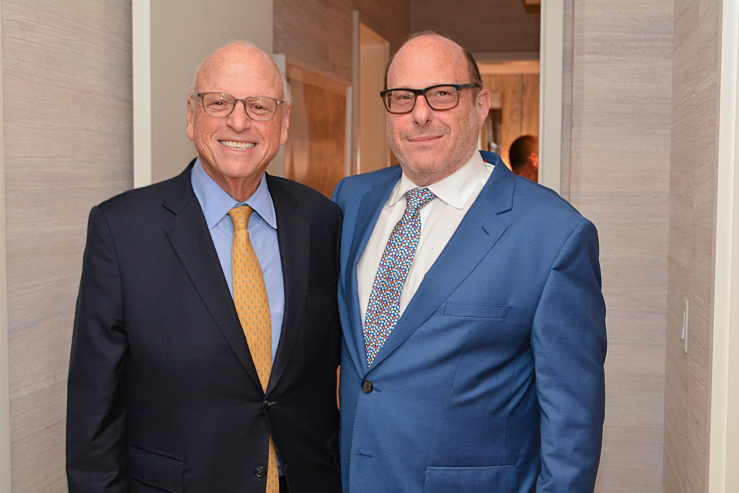 Horward Lorber, Chairman of Douglas Elliman and Bruce Ehrmann of Douglas Elliman