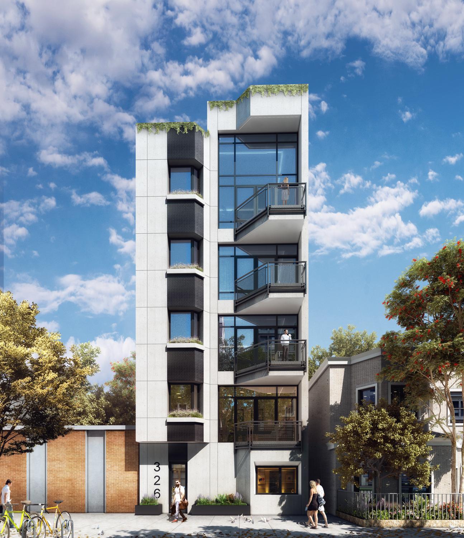 New Renderings Revealed Of IMC Architecture-Designed 326 Avenue U in Brooklyn