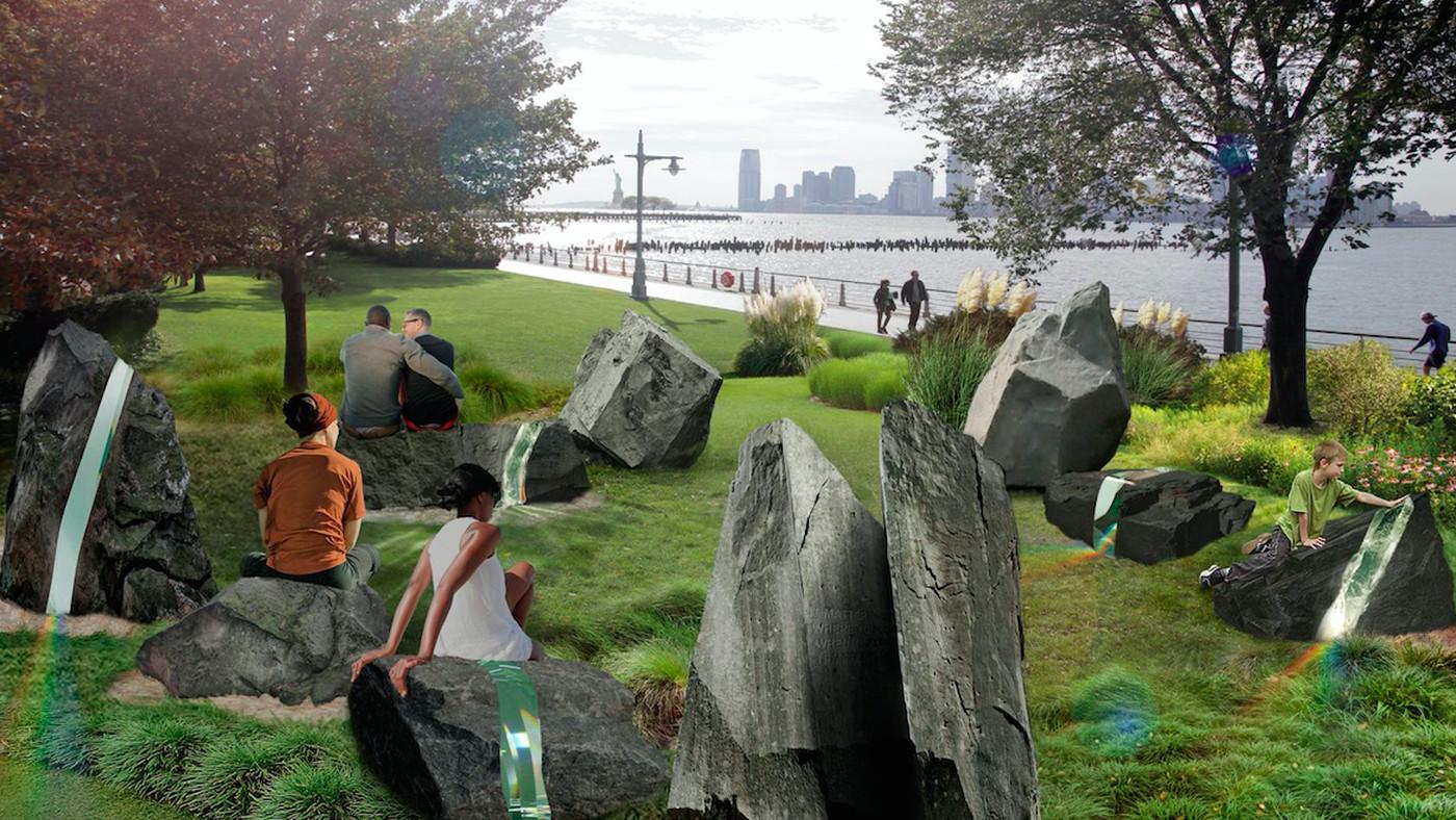 Construction on LGBTQ Monument Underway In Greenwich Village's Hudson River Park