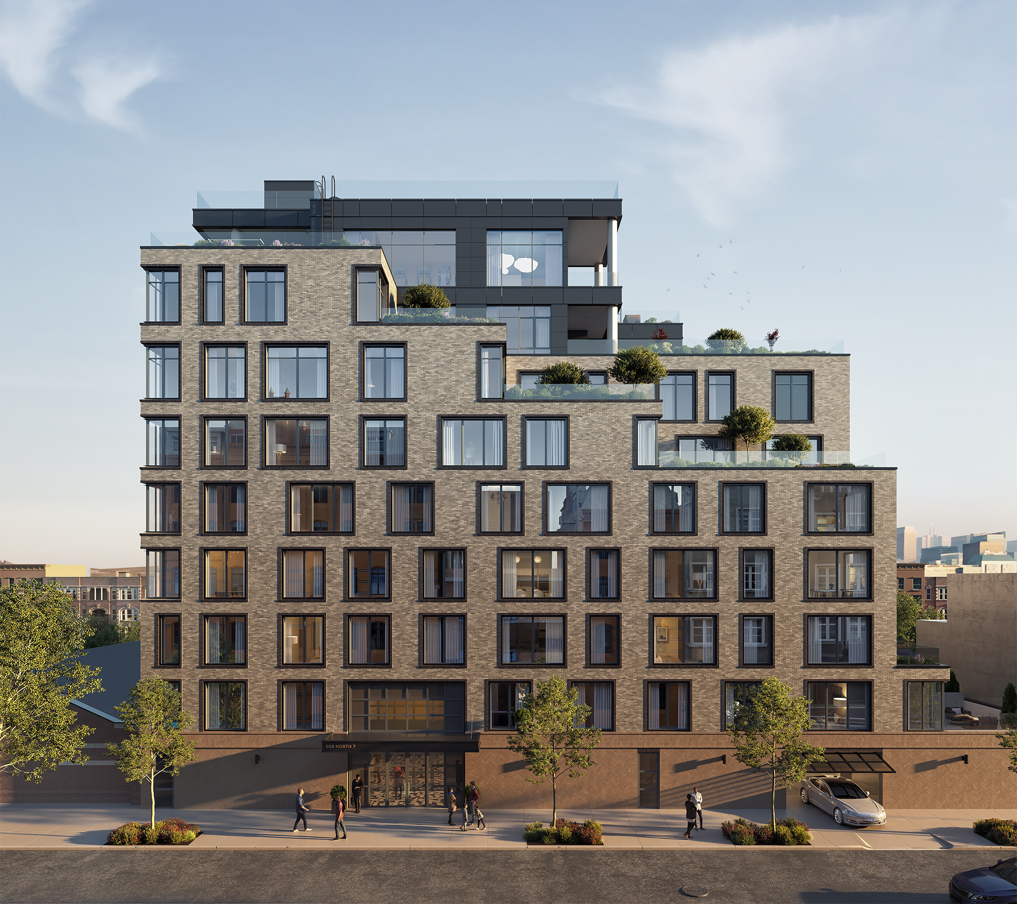 Brand New Isaac & Stern-Designed Williamsburg Condo 308 N 7th Launches Teaser Site