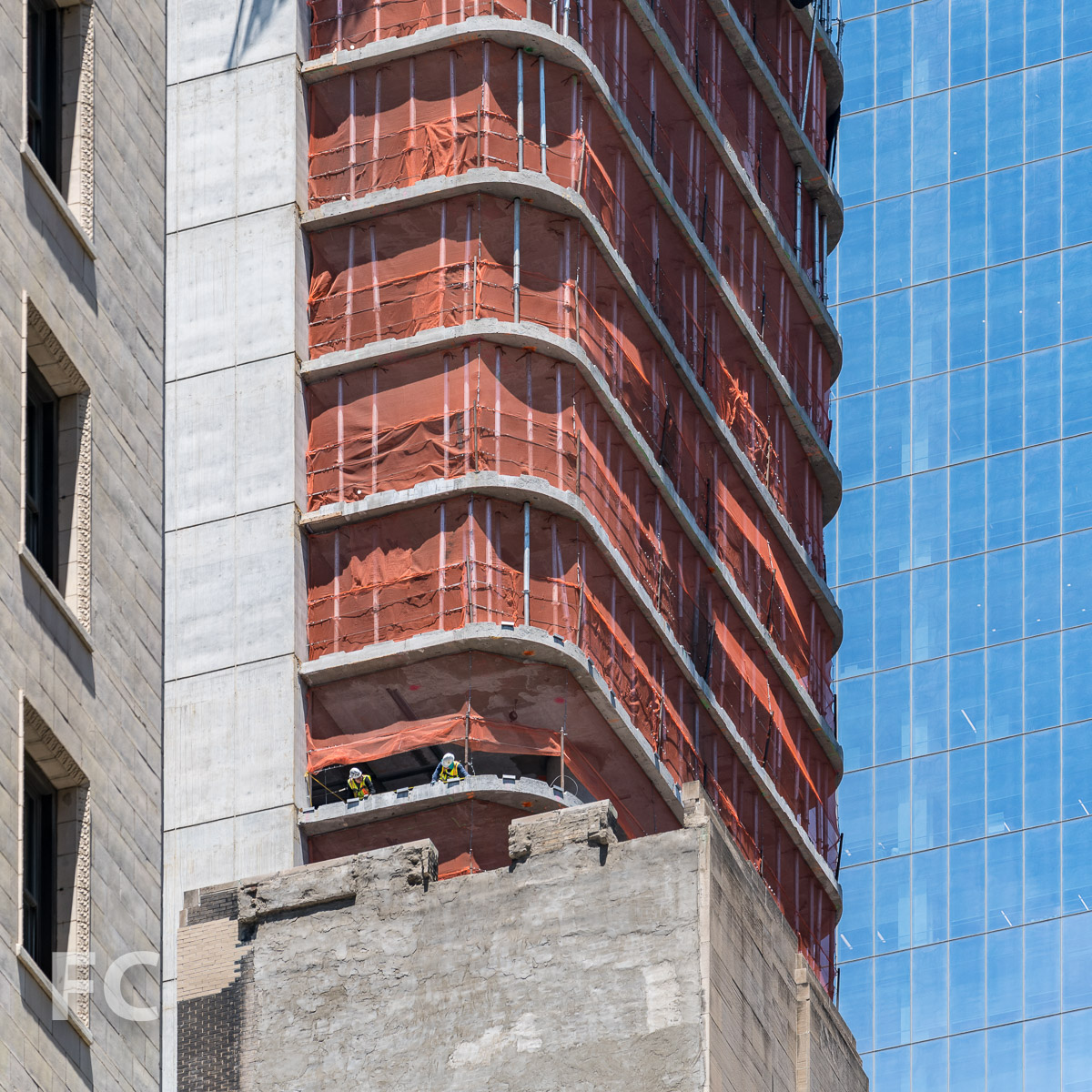 Construction On The Rafael Viñoly Designed 125 Greenwich Street Passes The Halfway Mark