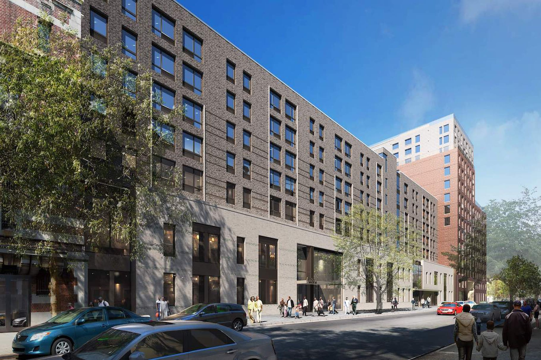 New Renderings Revealed Of The Bedford-Union Armory Redevelopment Project In Crown Height