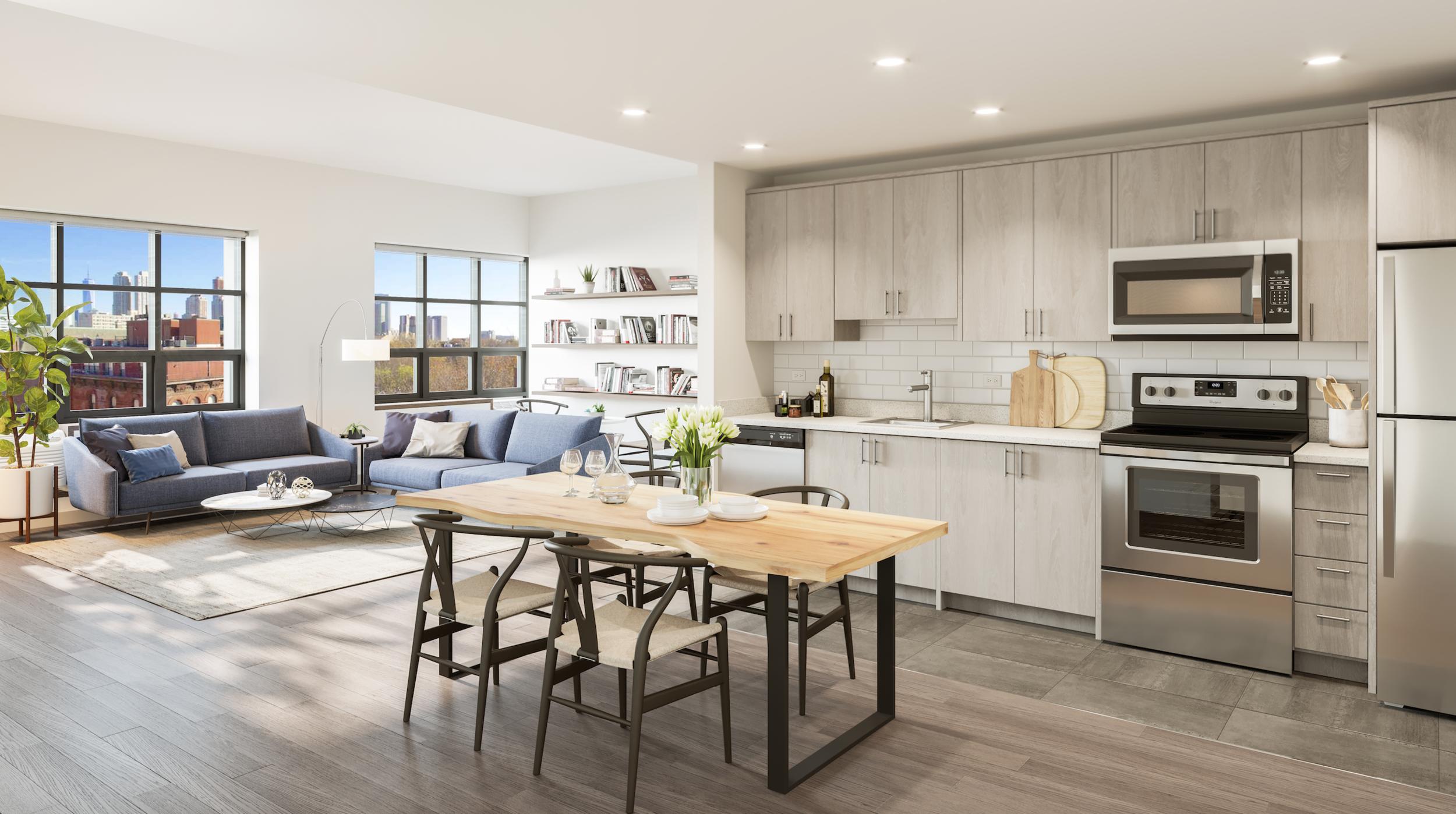 LeFrak Reveals Revetment House In The Hamilton Park Neighborhood Of Jersey City