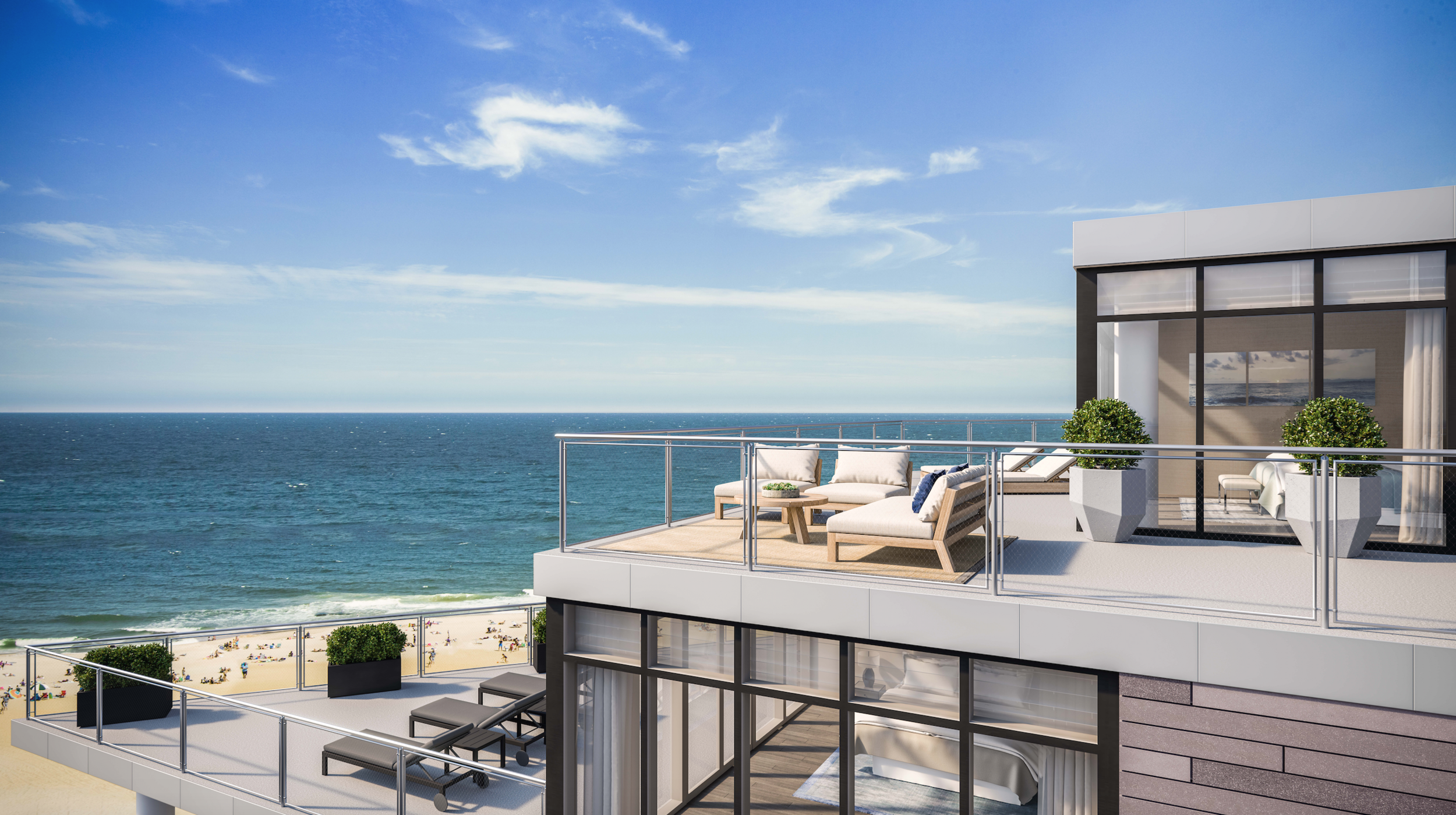 Extell Development Company S First New Jersey Condo The Lofts Pier Village Nearing 50 Sold Profilenyc