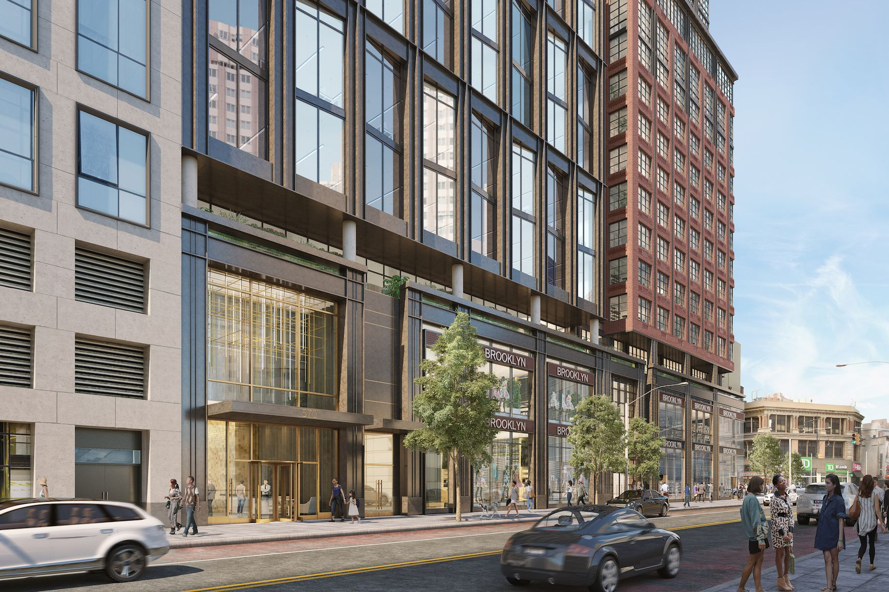 Slate Property Group Reveals Hill West Architects-Designed Tower At 570 Fulton Street In Downtown Brooklyn