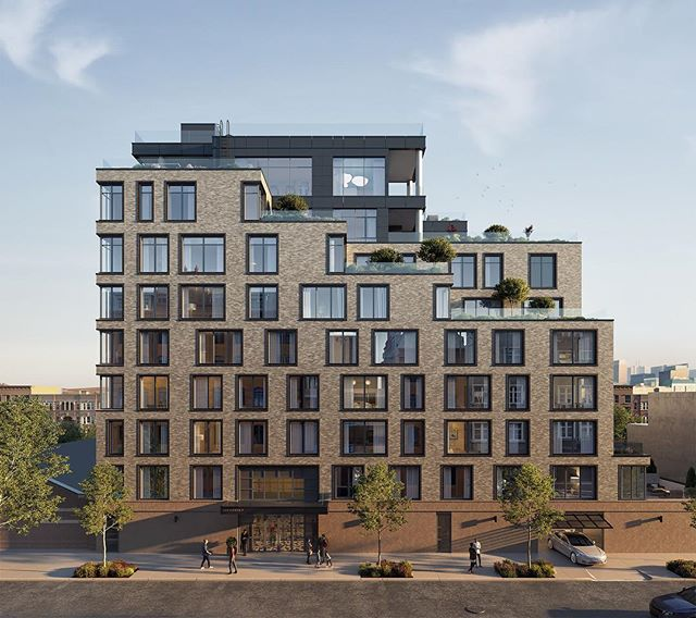 308 N 7th Street, a new luxury condominium in the heart of Williamsburg, has officially launched sales. The boutique condominium is inspired by historic Williamsburg and offers residents a 15-year 421-A tax abatement. 307 N 7th features interiors designed by Paris Forino along with first class amenity spaces located atop the building which include a fitness room with outdoor exercise areas, a children's playroom and a large terrace with barbecue areas and private cabanas available for purchase. Prices will start at $842,000 for a studio and closings are expected to start in early 2019. #308N7 #N7Williamsburg #Williamsburg #BrooklynRE #Brooklyn #ParisForino #NewYorkRealEstate #PROFILEnyc