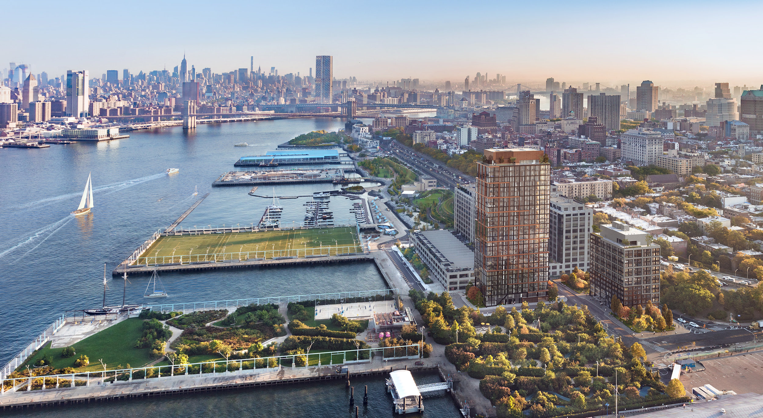Penthouse at Quay Tower Shatters Brooklyn's Priciest Sale In History At Over $20 Million