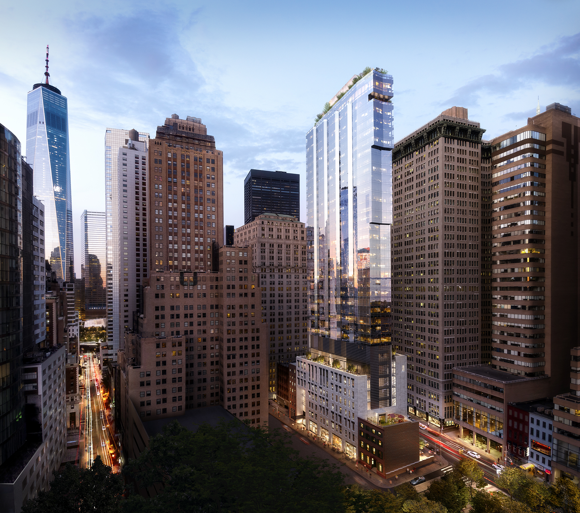 Trinity Place Holdings Reveals New Renderings of 77 Greenwich