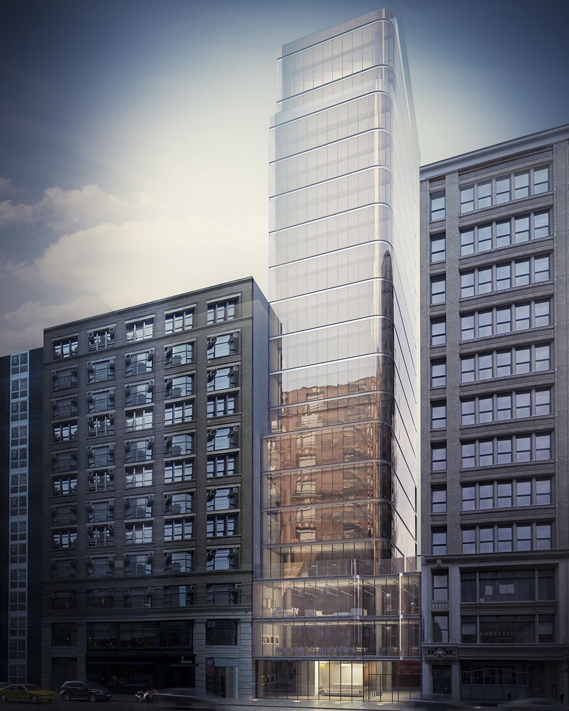 New Renderings Revealed For Kossar + Garry Architects-Designed 25 West 24th In Flatiron