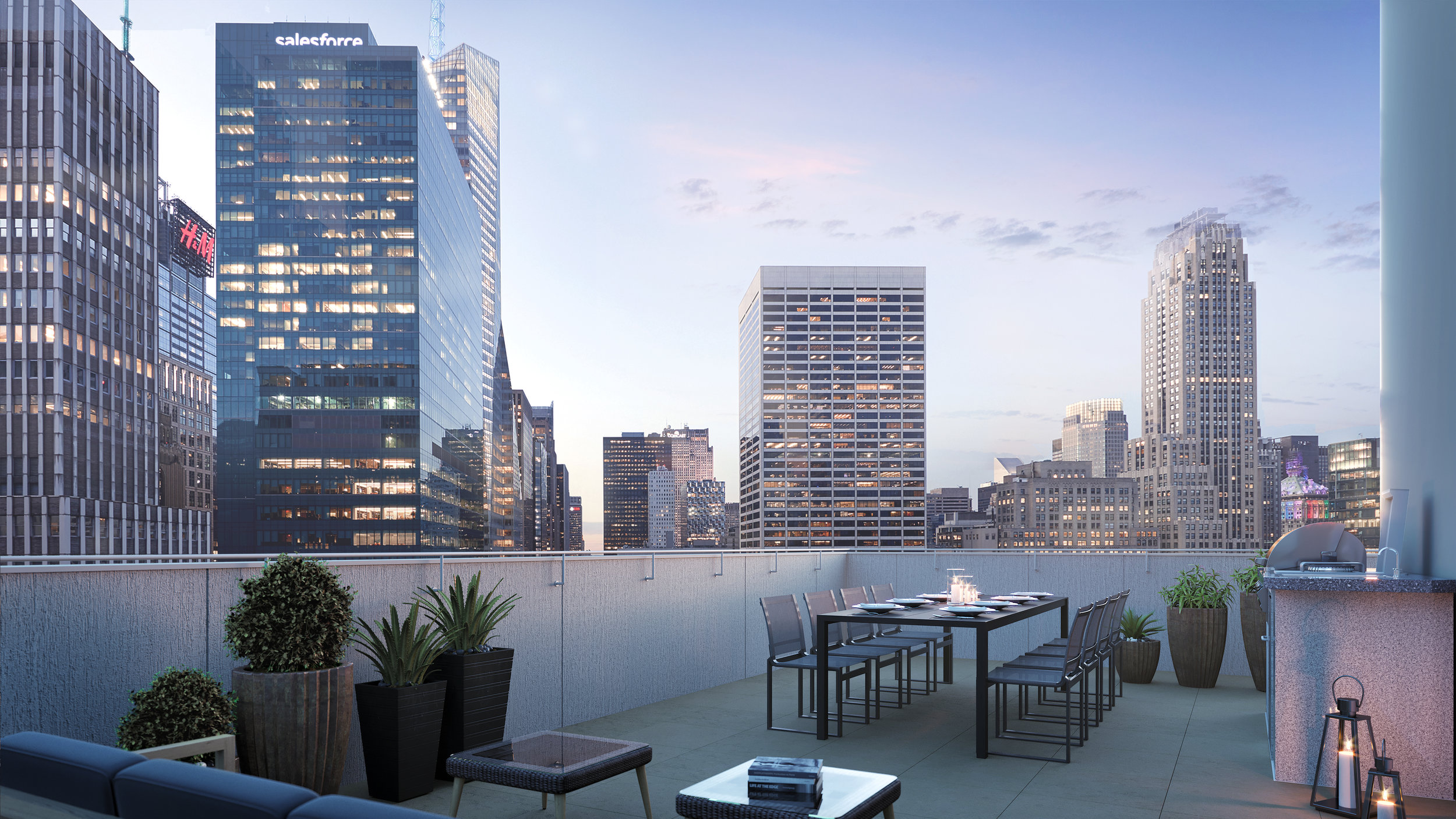 Skyline Developers Reveal Bryant Park's First Luxury Rental Building ML House