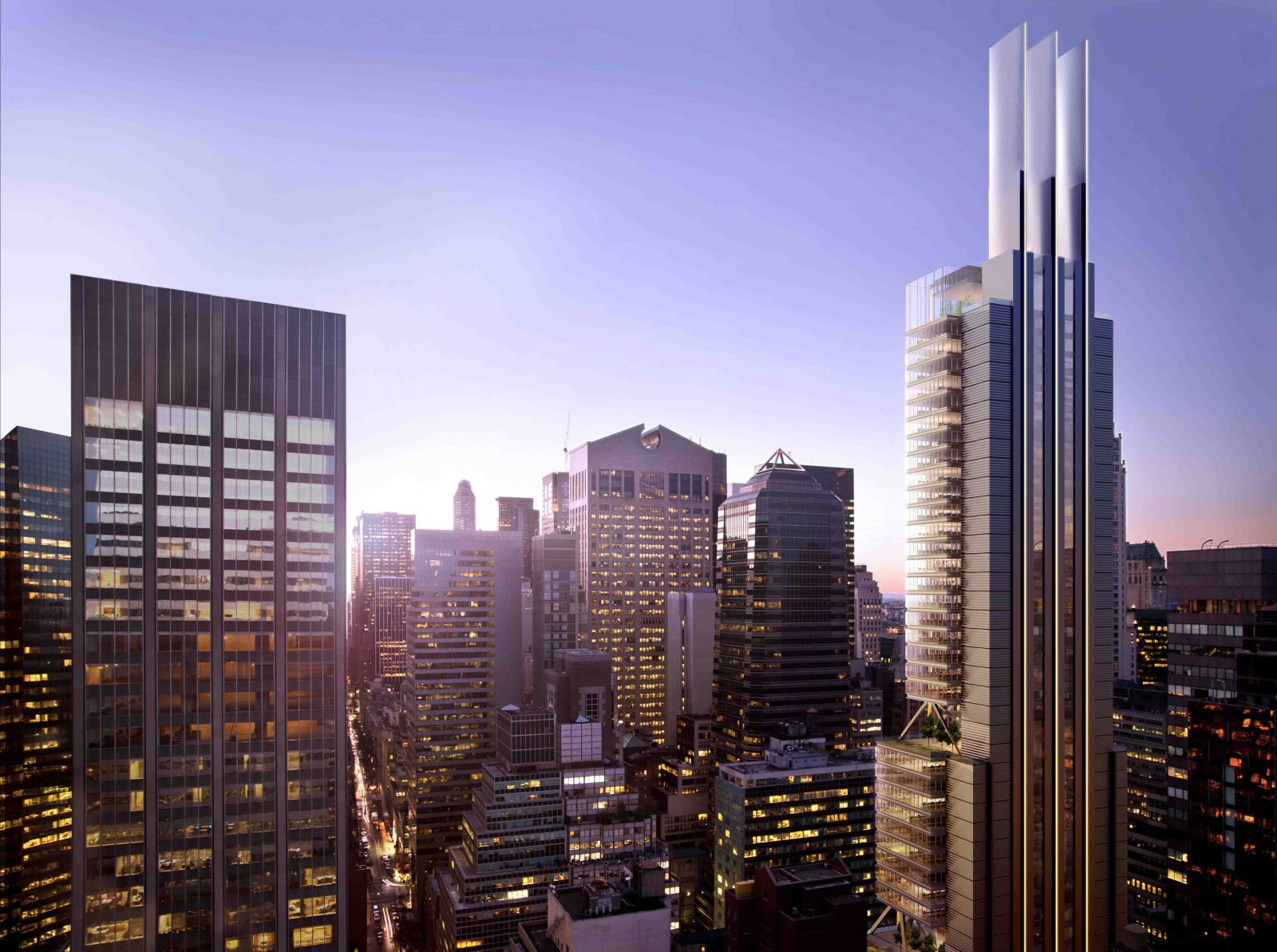 The Foster + Partners-Designed 425 Park Avenue Tops Out in Midtown East