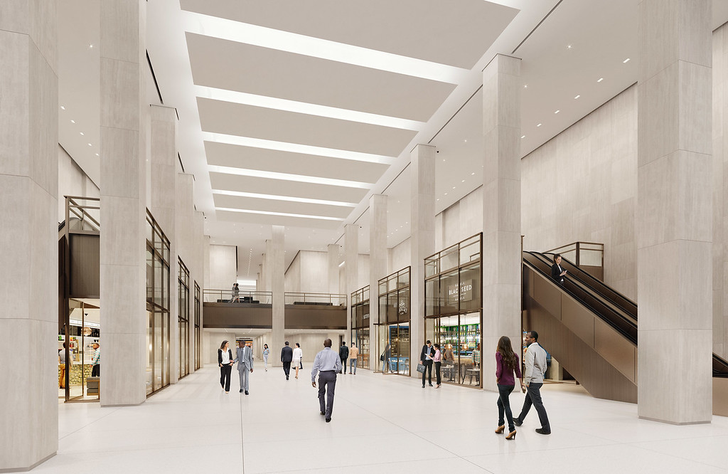 Tishman Speyer Reveals New Renderings For The MetLife Buildings Redesigned Lobby