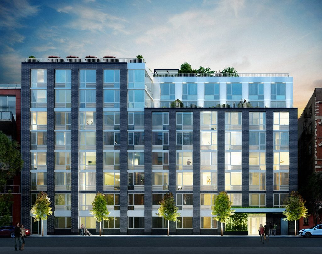 SLCE Architects-Designed EVE NYC In The East Village Reveals New Renderings