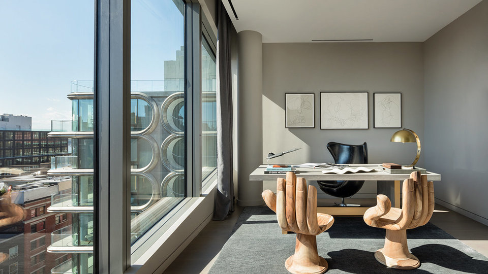 Penthouse At Zaha Hadid's 520 West 28th Street Revealed As Mega-Duplex Asking $58.5 Million