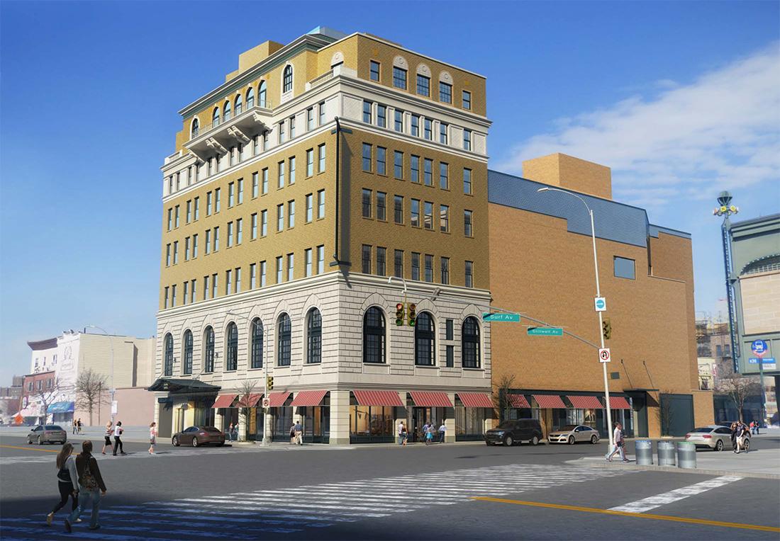 PYE Properties Reveals Plans To Restore Brooklyn's Historic Coney Island Shore Theatre