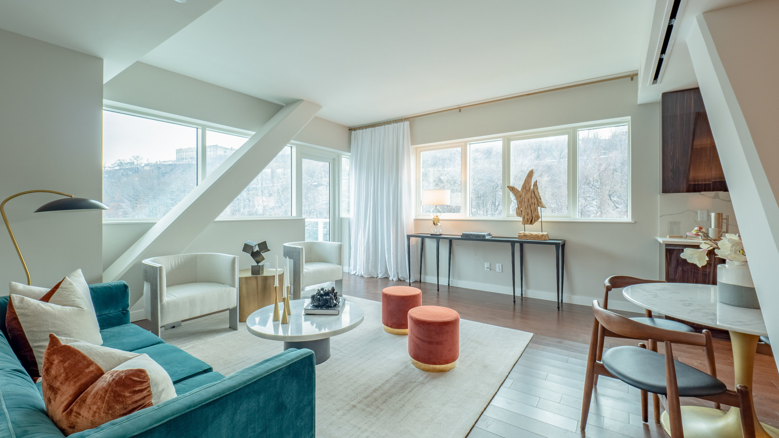 Peek Inside A Newly Revealed Residence At Avora On Weekhawken's Gold Coast