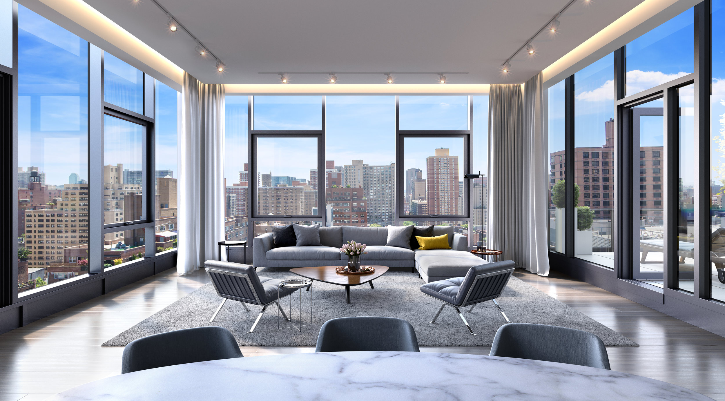 Get A First Look Inside The Only Available Penthouse In The Modern Half Of 88&90 Lexington