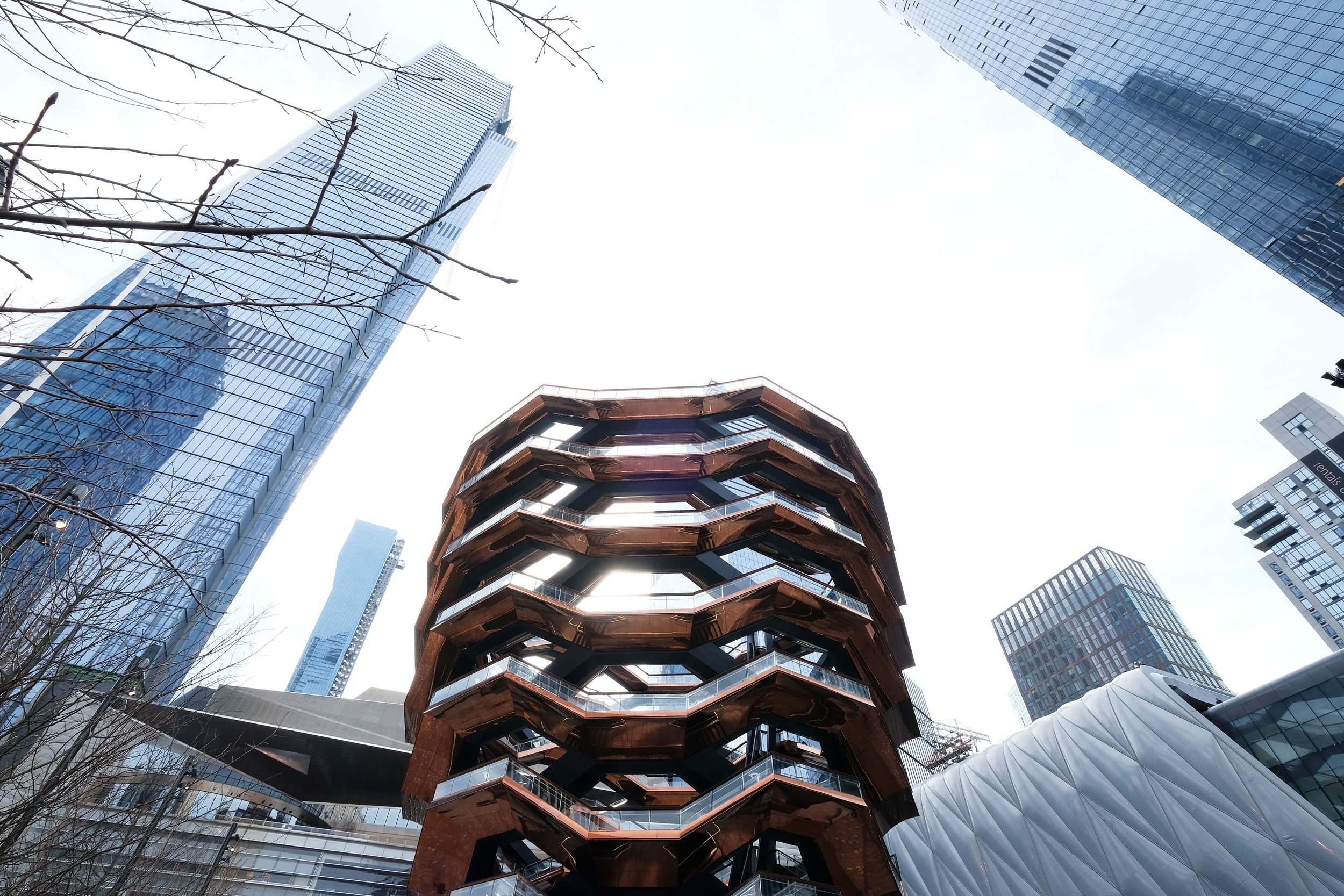 The Vessel The Hudson Yards Neighborhood Officially Opens As Related Companies And Oxford Properties Group Celebrate Historic NYC Milestone