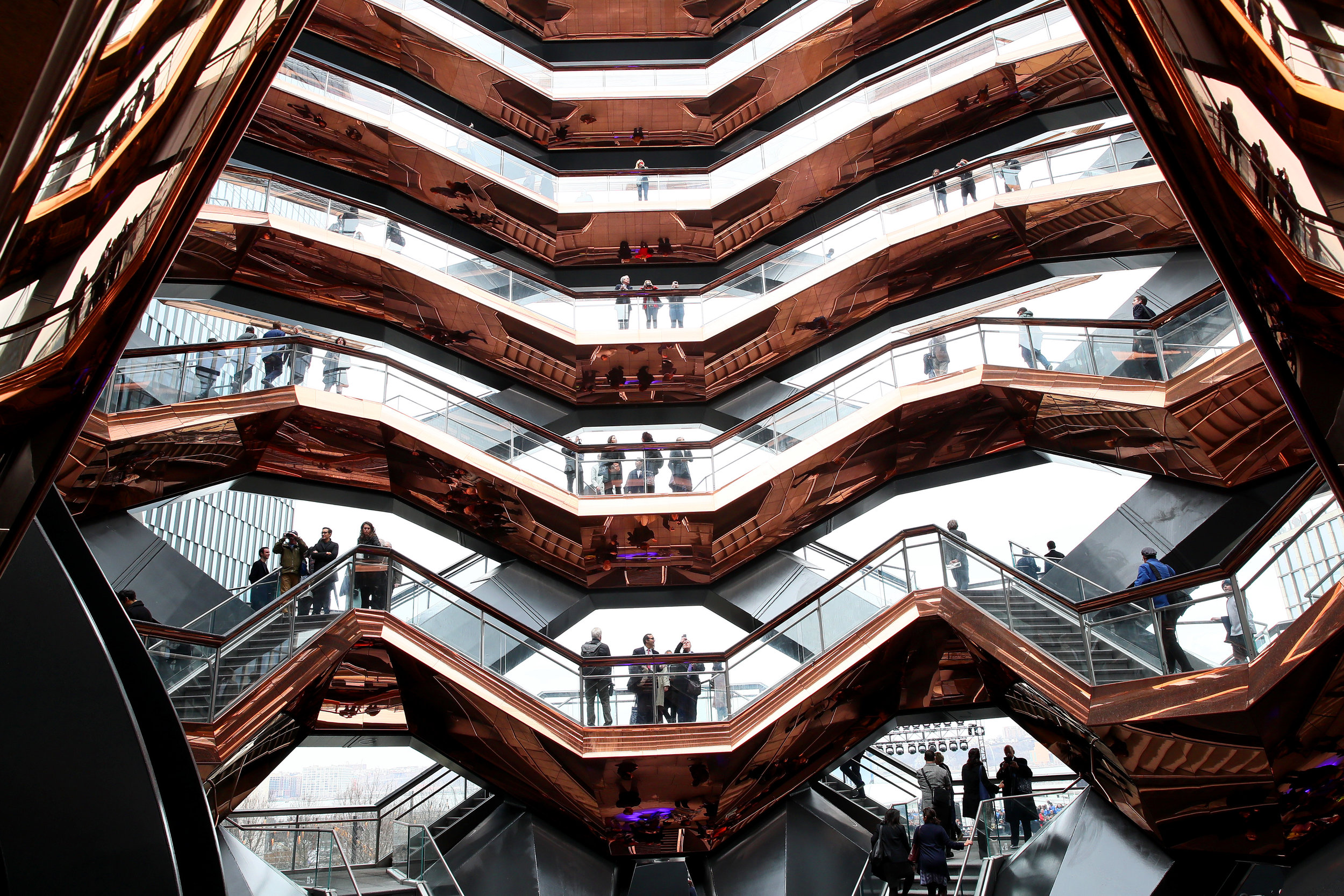 The Hudson Yards Neighborhood Officially Opens As Related Companies And Oxford Properties Group Celebrate Historic NYC Milestone