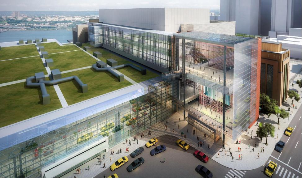 Construction Cruising Along At The Tvsdesign-Designed Jacob K. Javits Center's Expansion