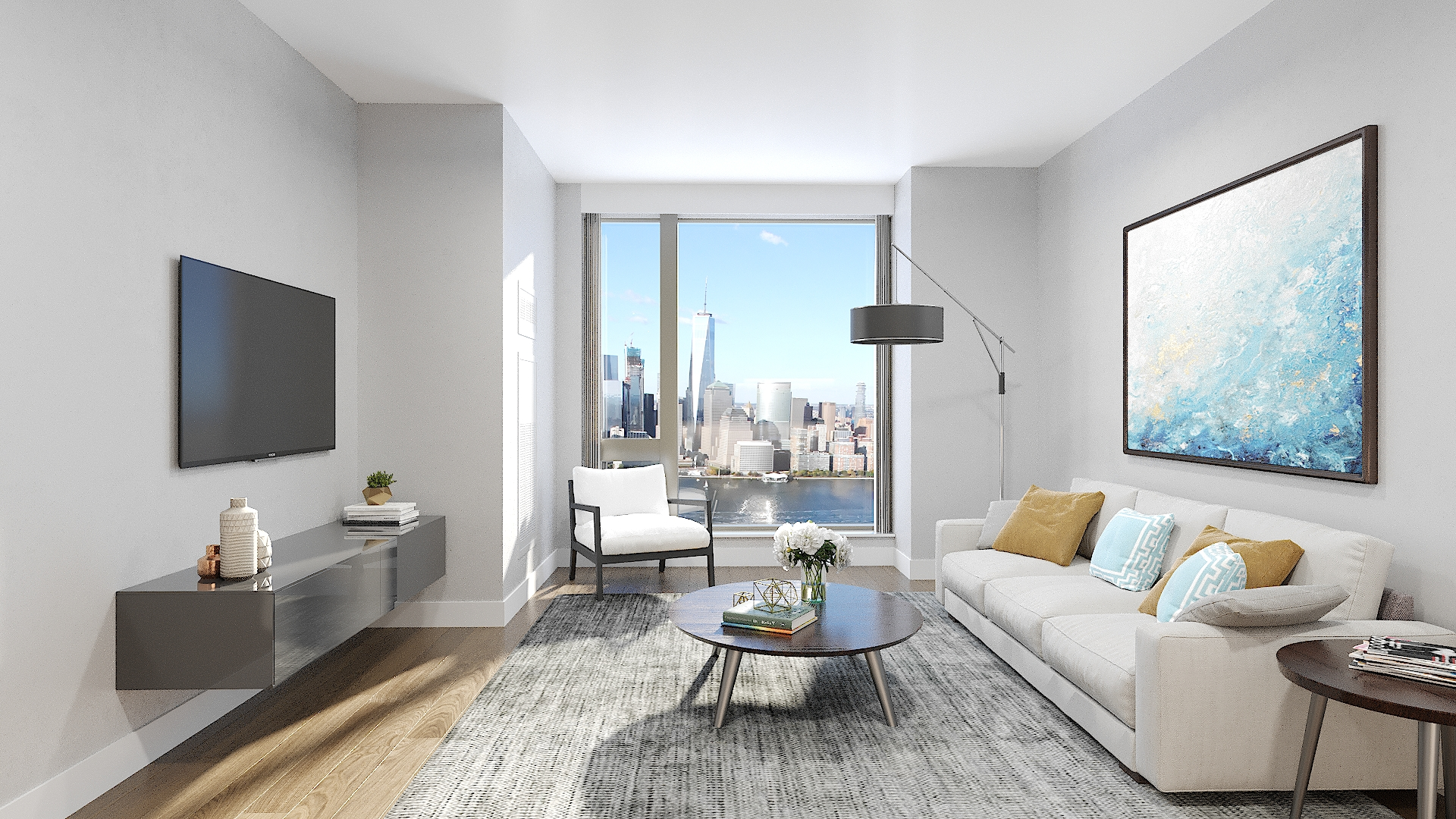 Sales Soar At The Perkins Eastman-Designed 99 Hudson On Jersey City's Waterfront